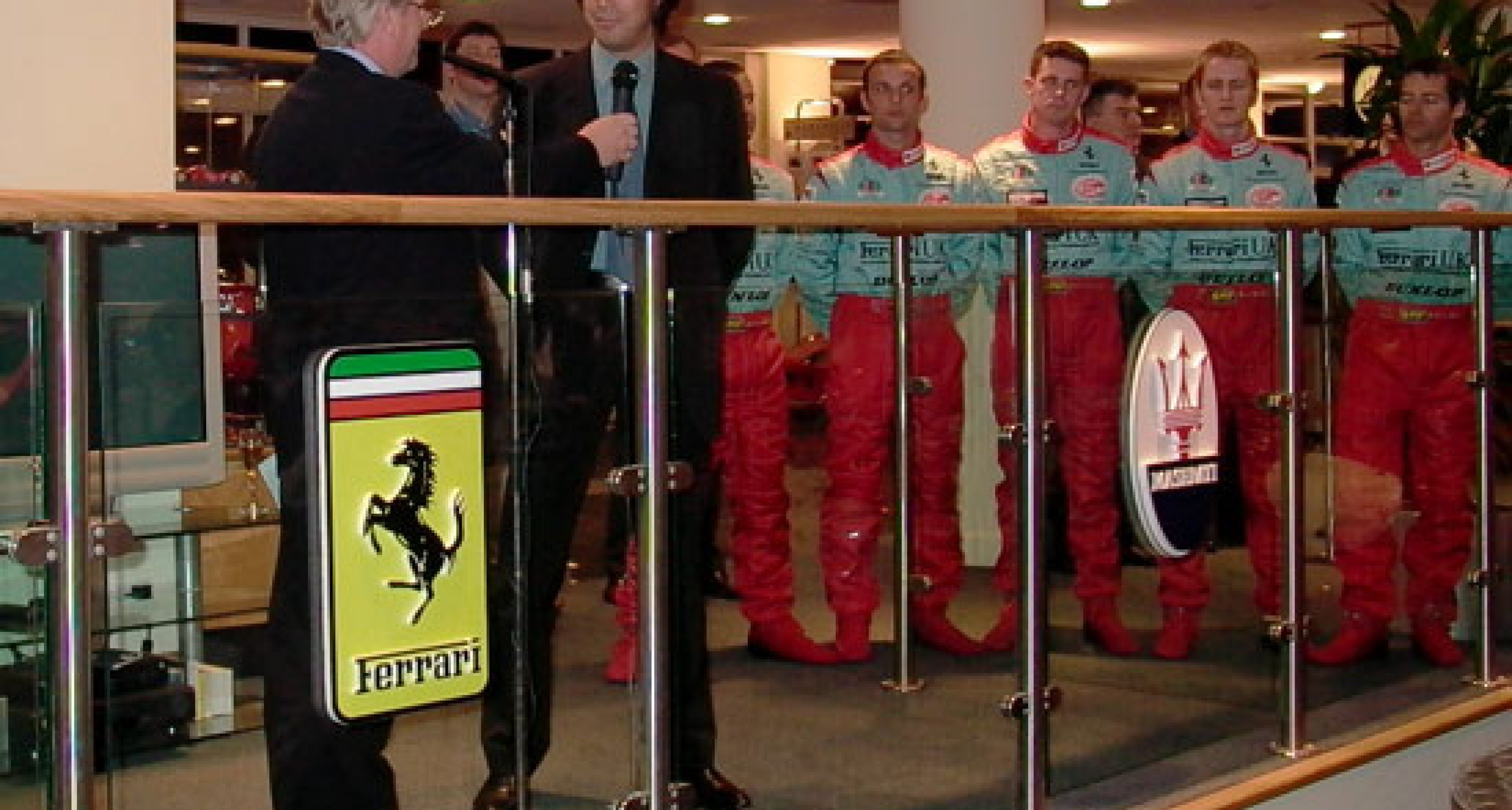 Team Maranello Concessionaires - 2003 official launch