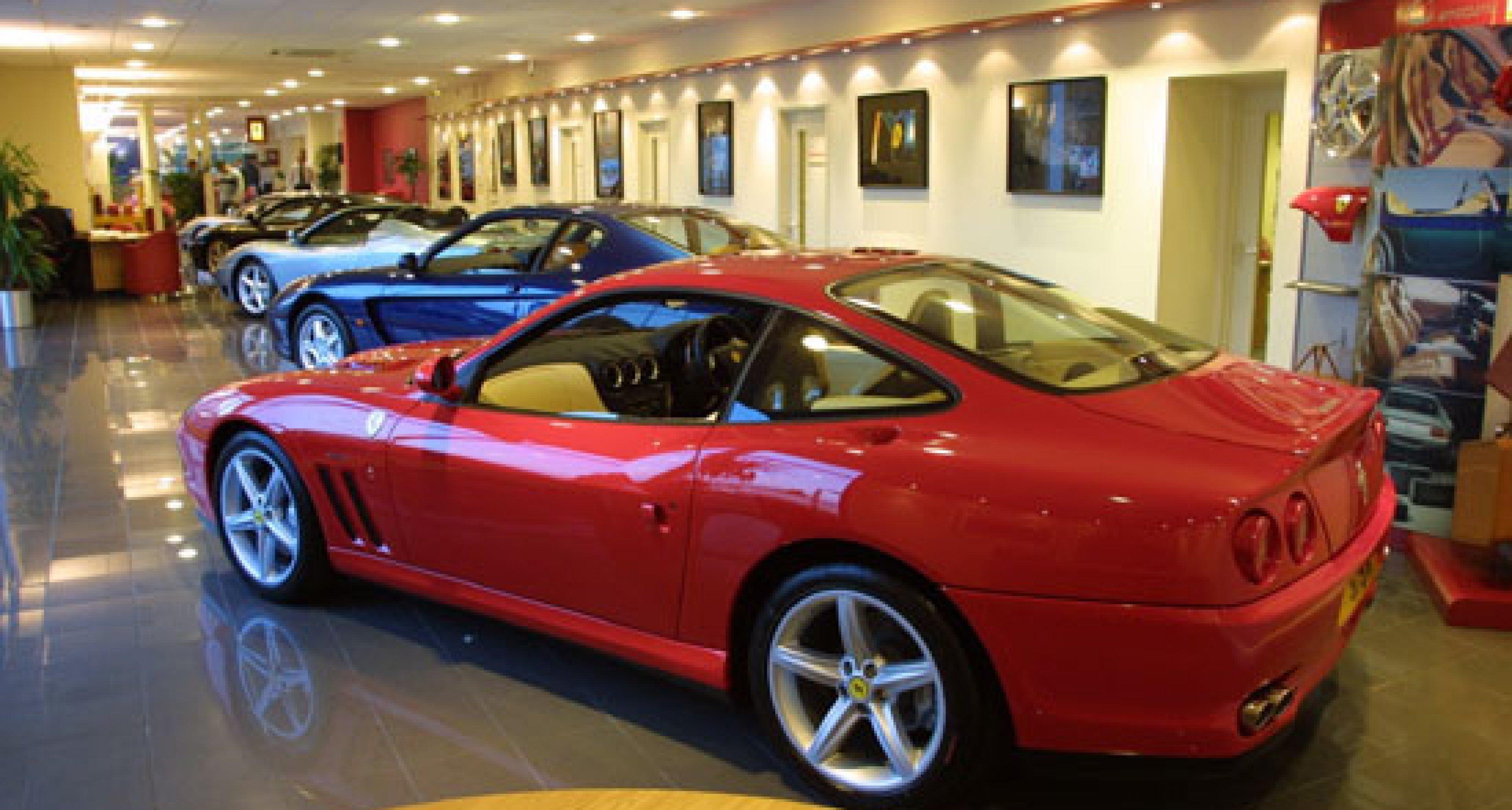 World's largest Ferrari and Maserati showroom opens in UK