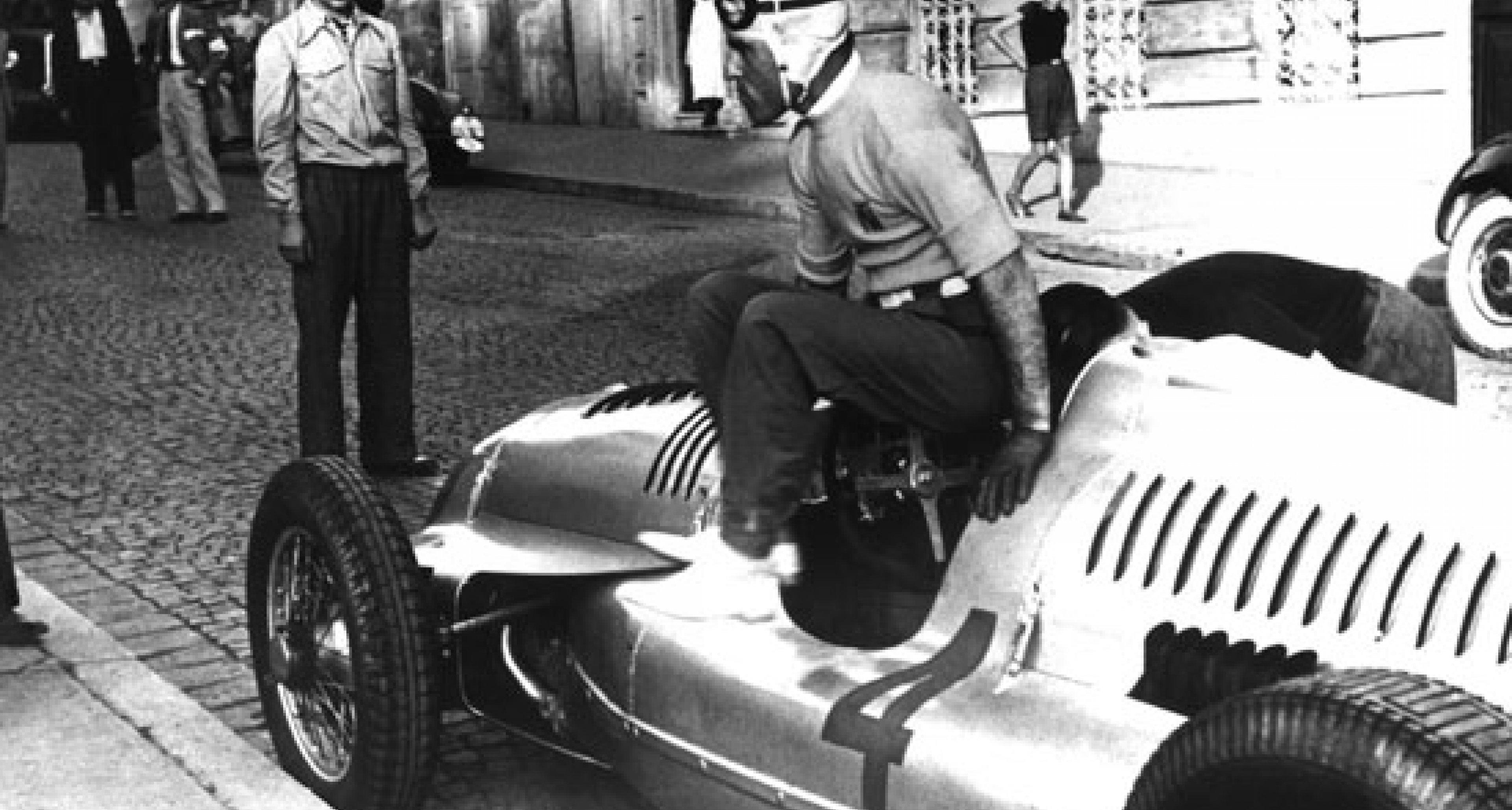 Tazio Nuvolari – the legendary racing driver from Mantua