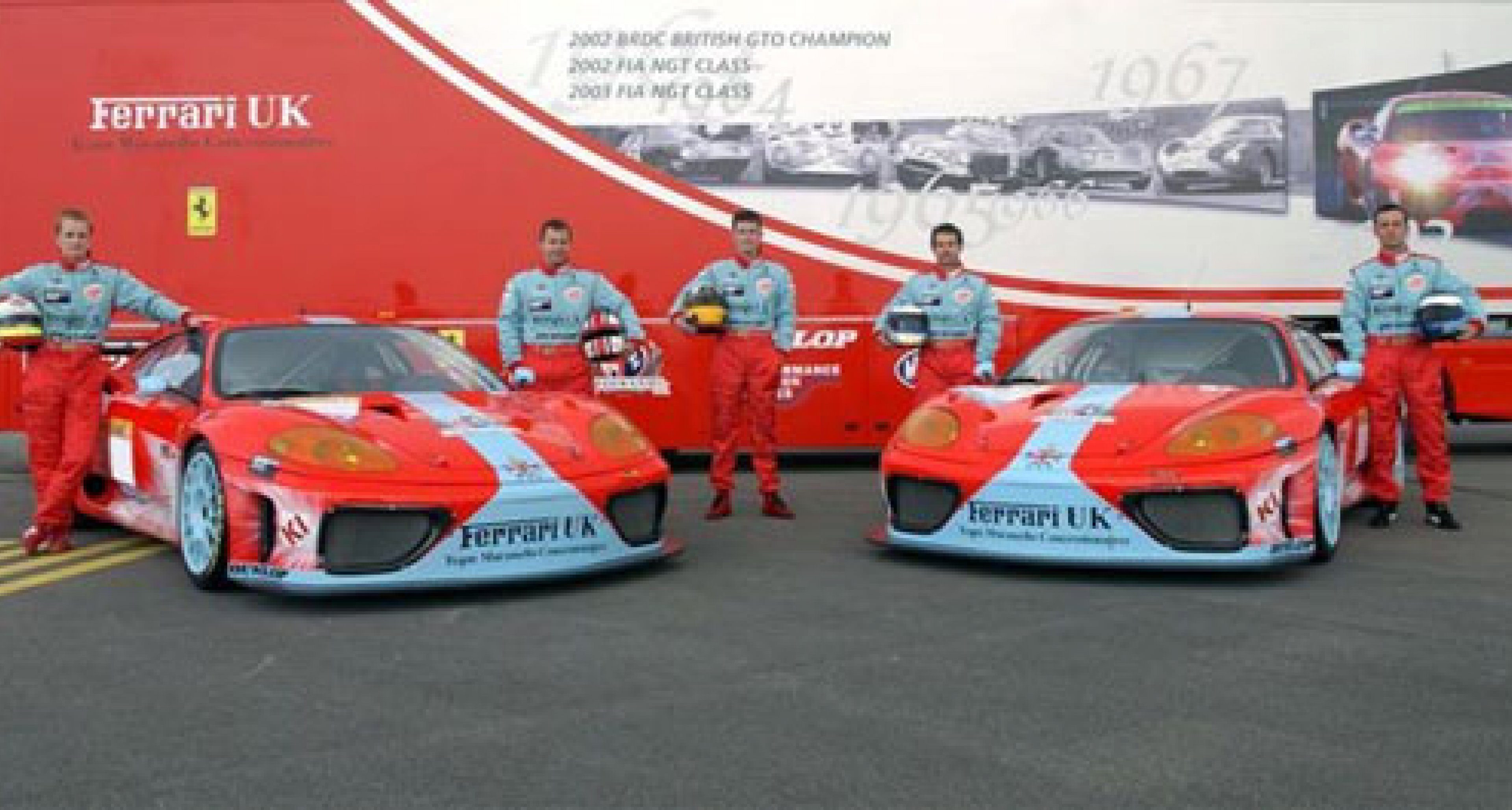 Team Maranello Concessionaires - 2nd and 3rd at Catalunya