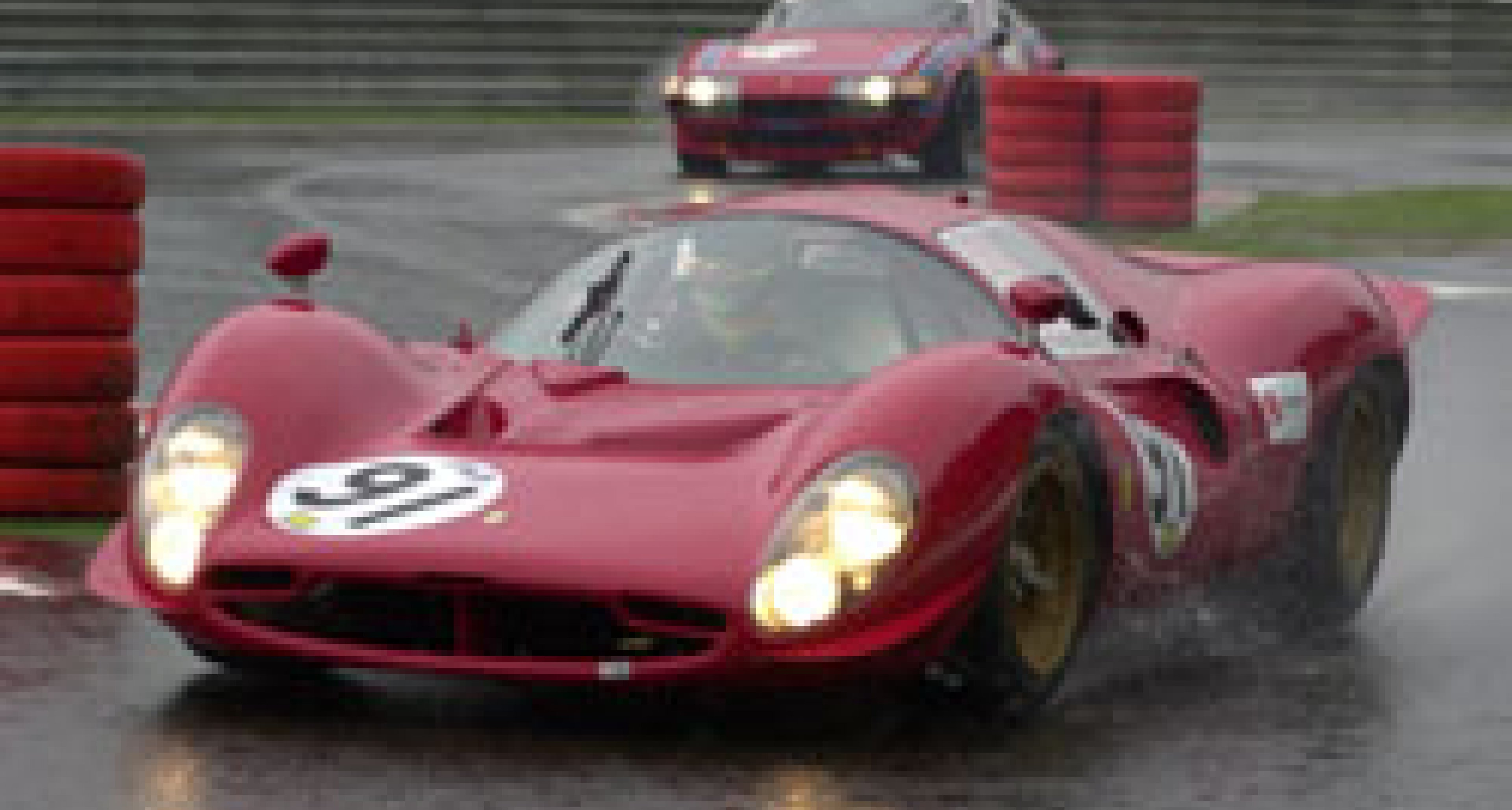 Wet Spa for the annual 'Ferrari Days' Weekend 2003