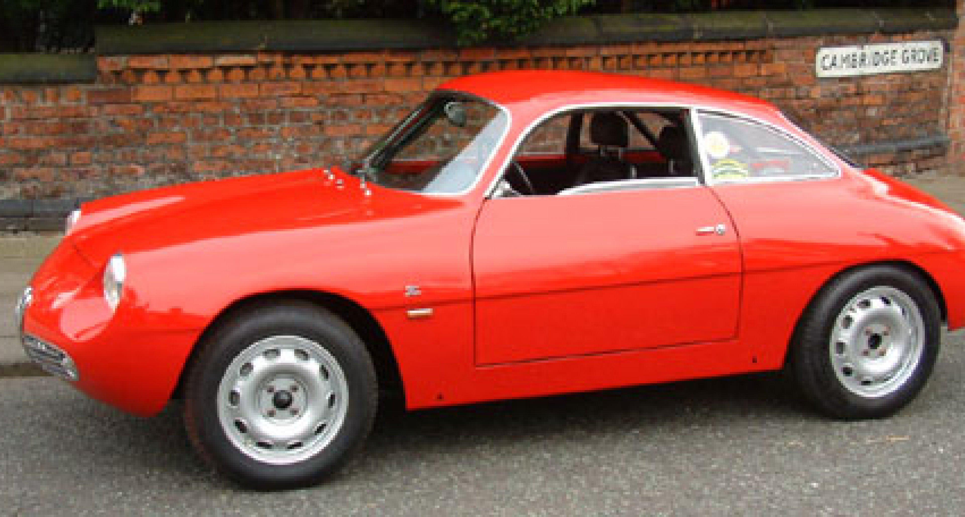 Born by accident – the Alfa Romeo Giulietta SZ