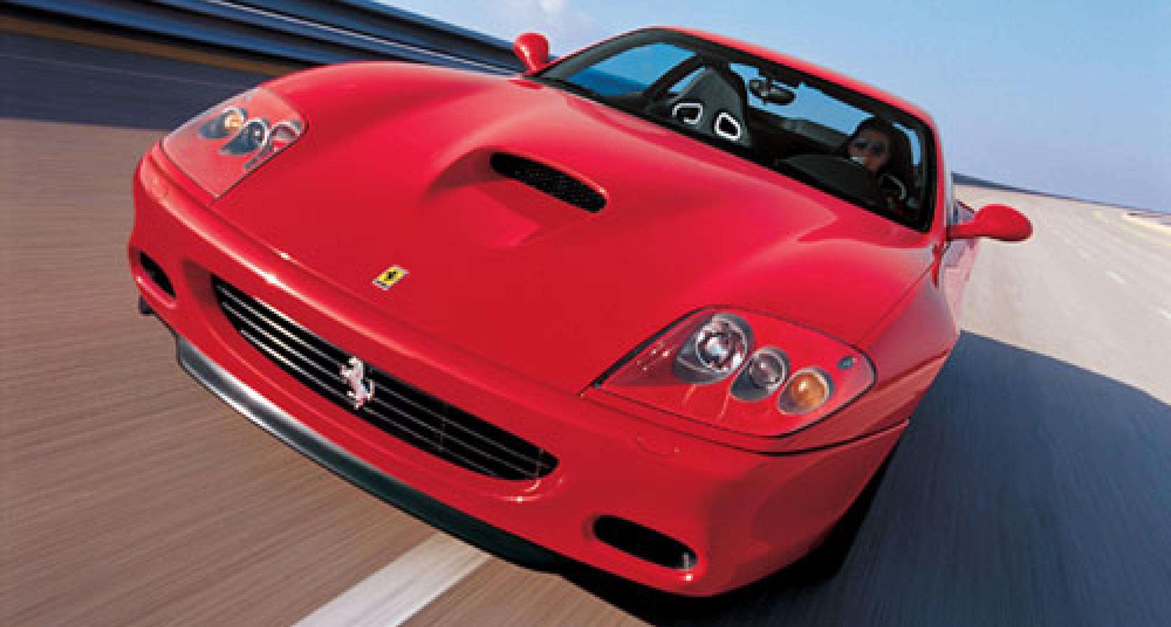 Ferrari 575M Maranello winner of  Robb Report Award 2003