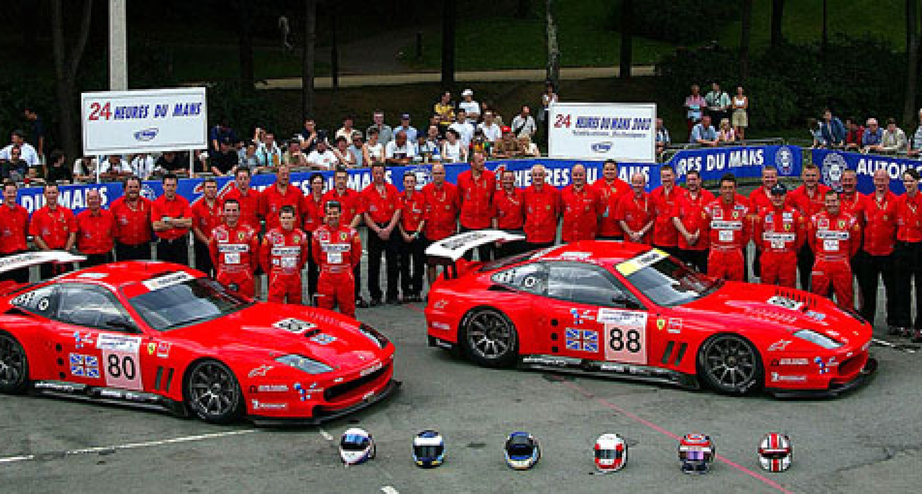 First Ferrari  GT victory at Le Mans since 1974 - looking forward to UK FIA GT Race on 29 June