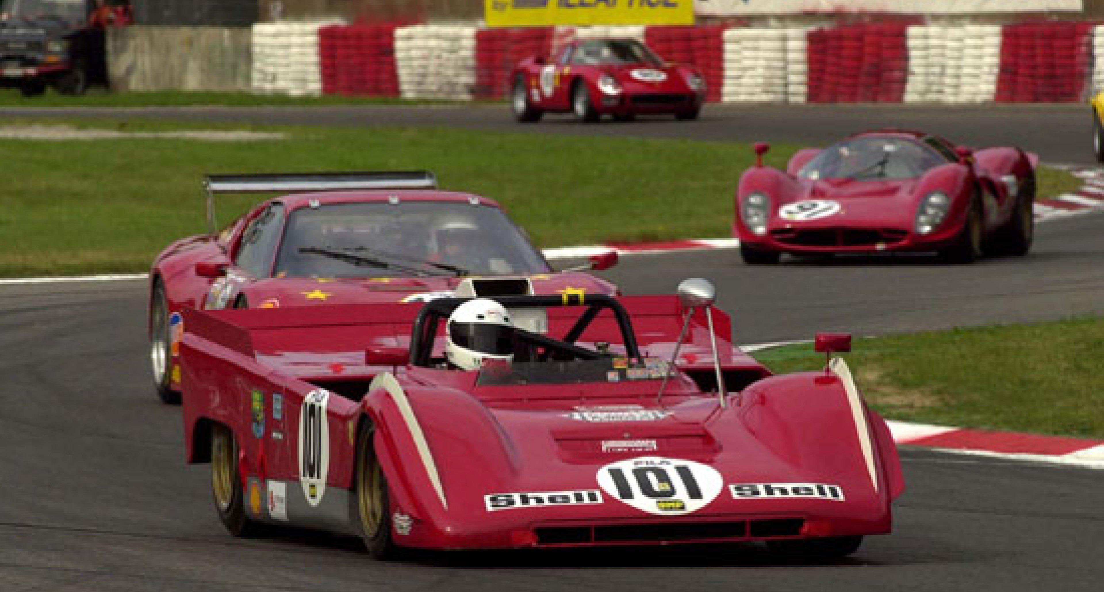 21/22 June Donington Shell Historic Ferrari and Maserati