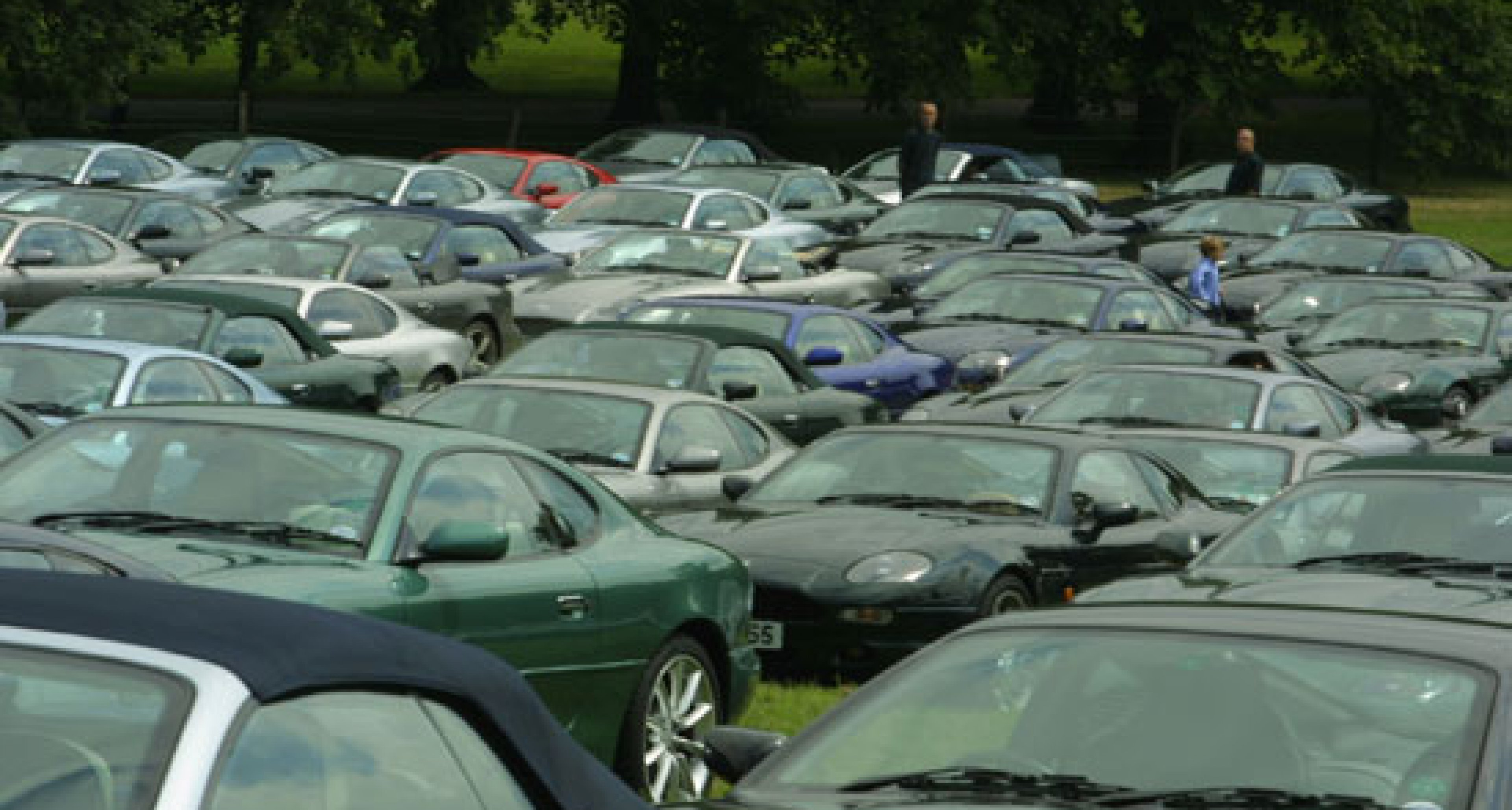 World's Largest Ever Meeting of Aston Martin DB7s