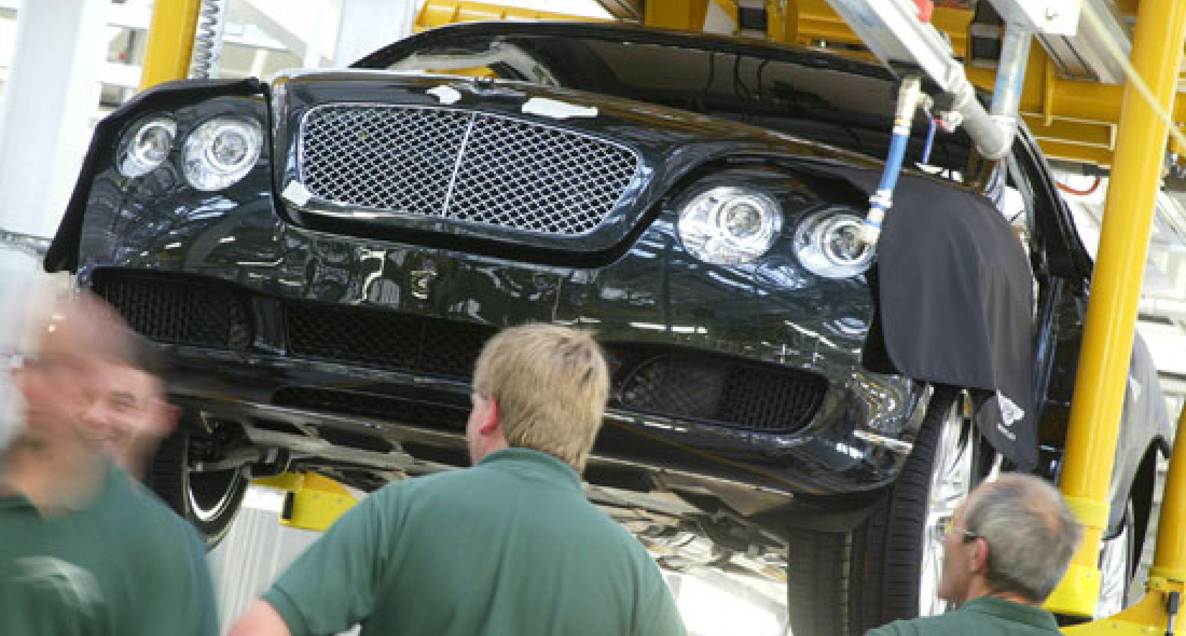 Bentley Continental GT: Produktionsbeginn