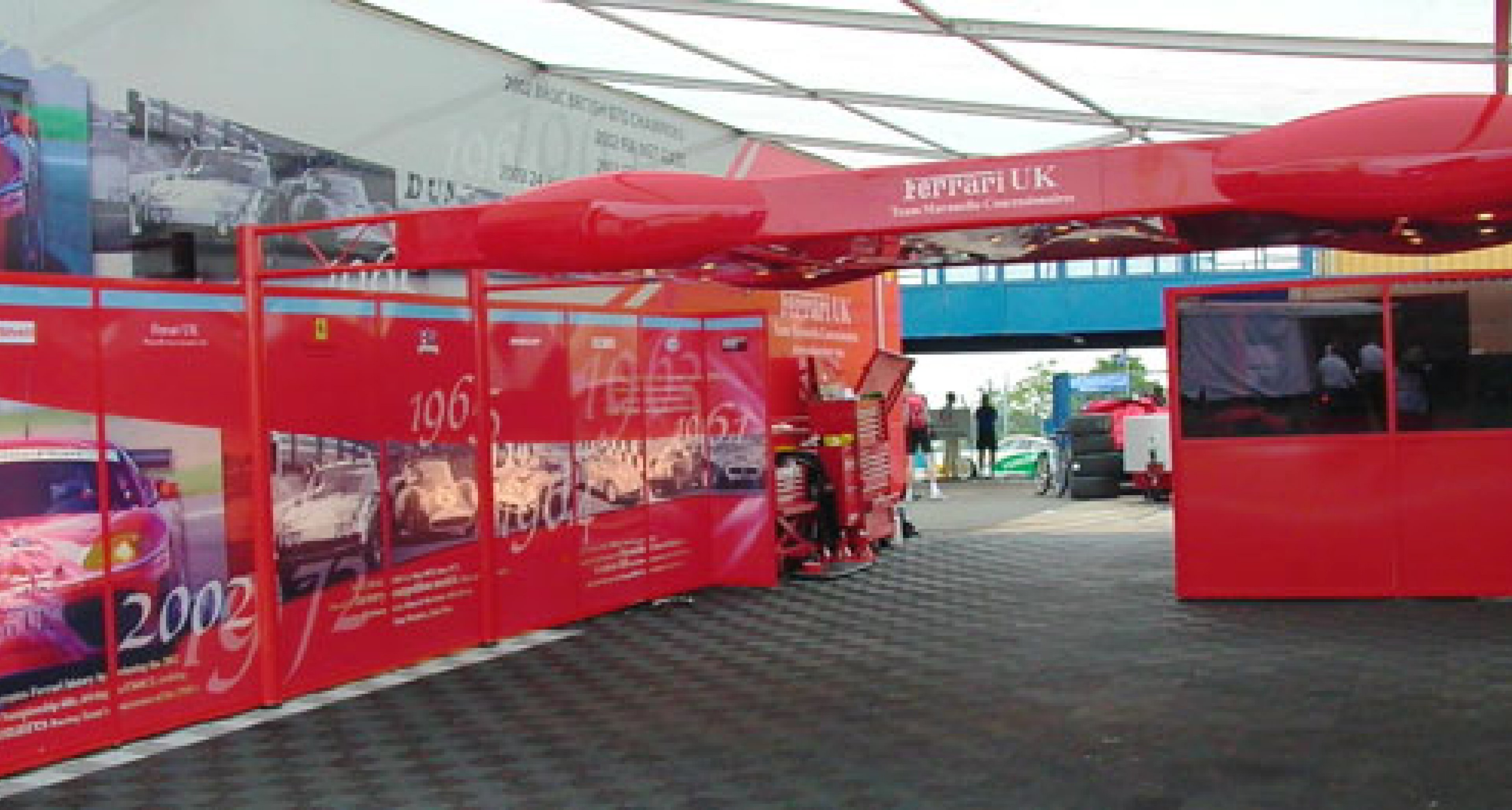 Racing with Team Maranello Concessionaires 2003