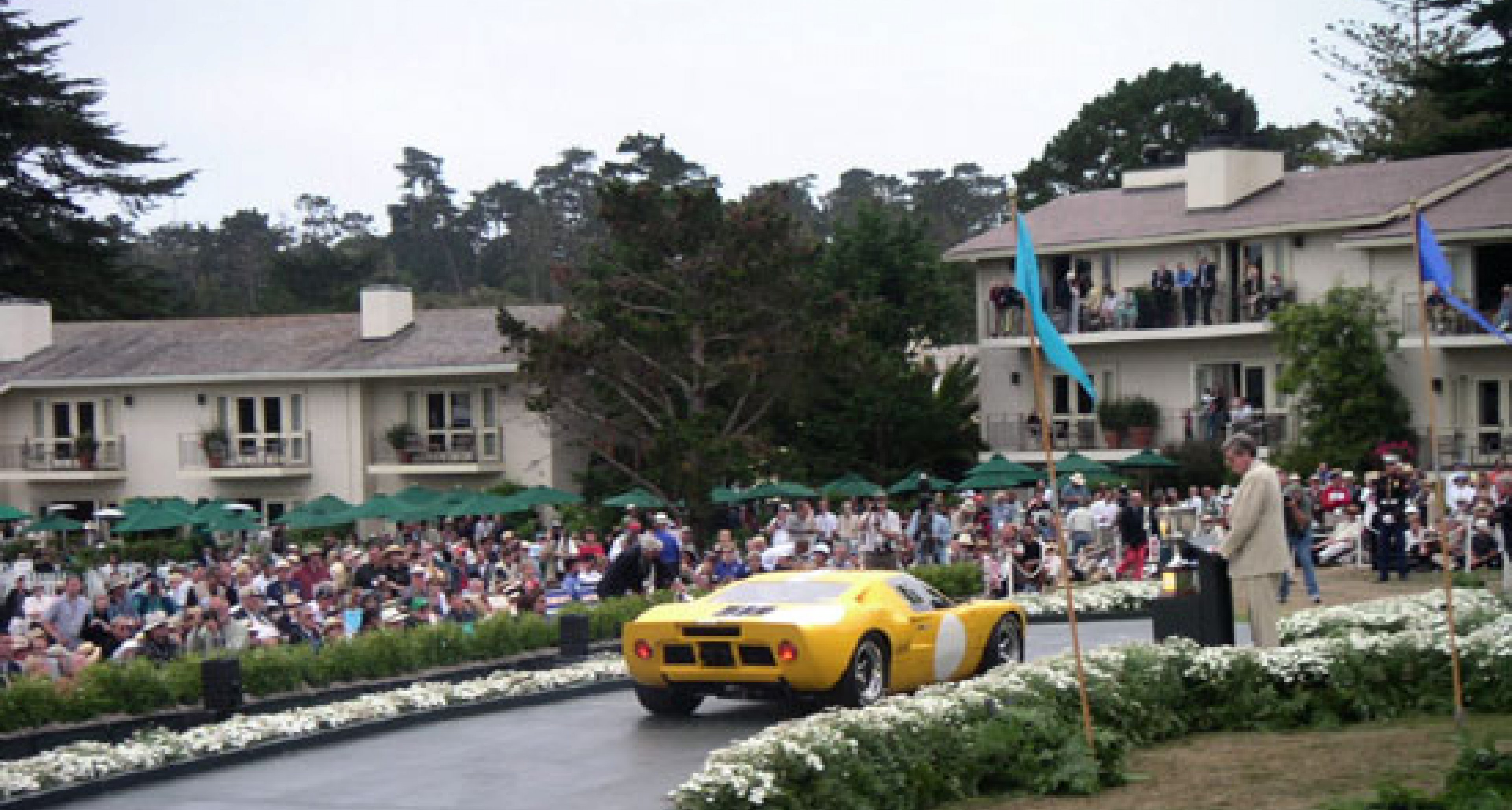 Pebble Beach 2003 - the entrant's perspective