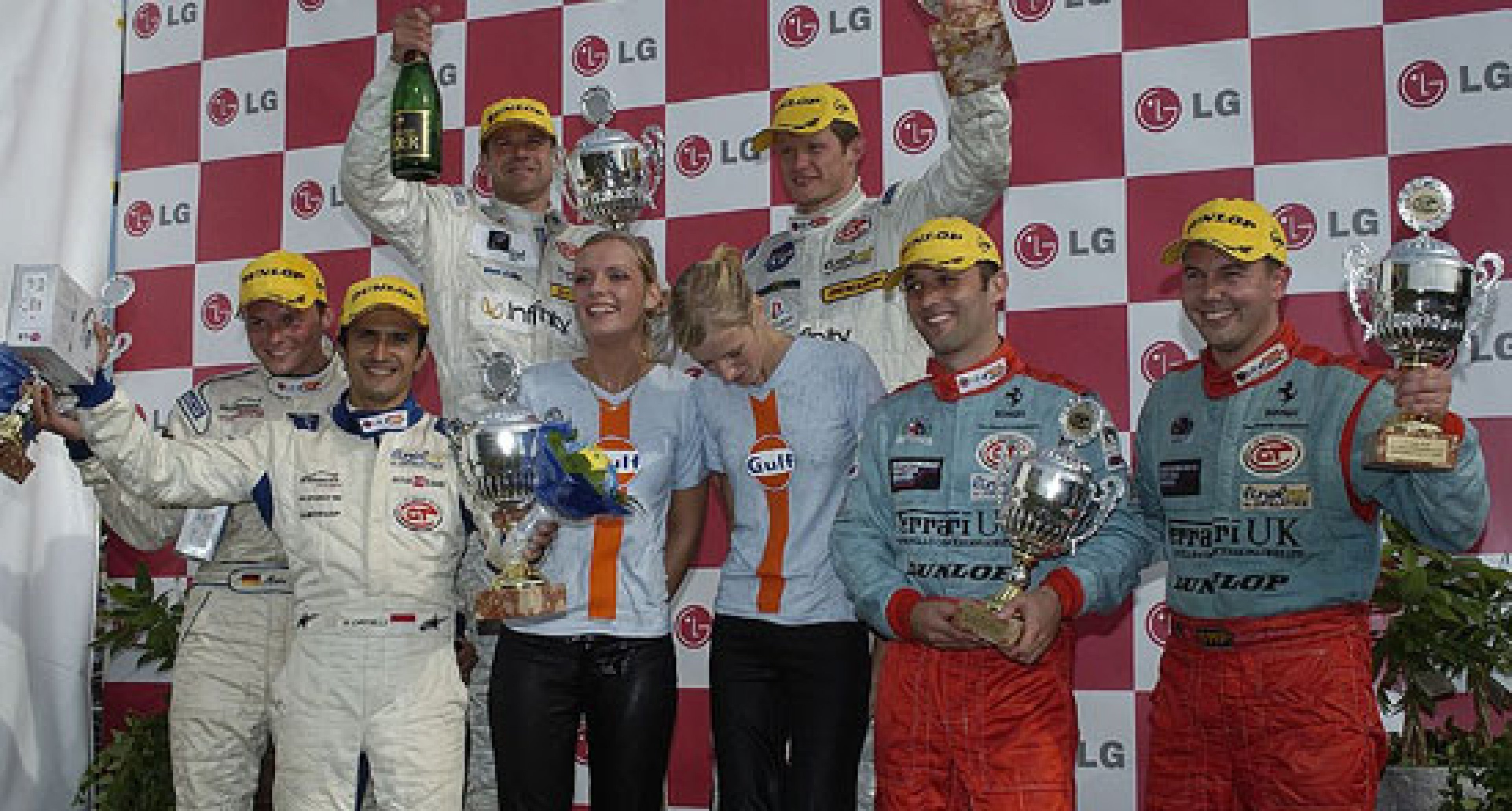 Team Maranello Concessionaires - Anderstorp, Sweden - on the podium
