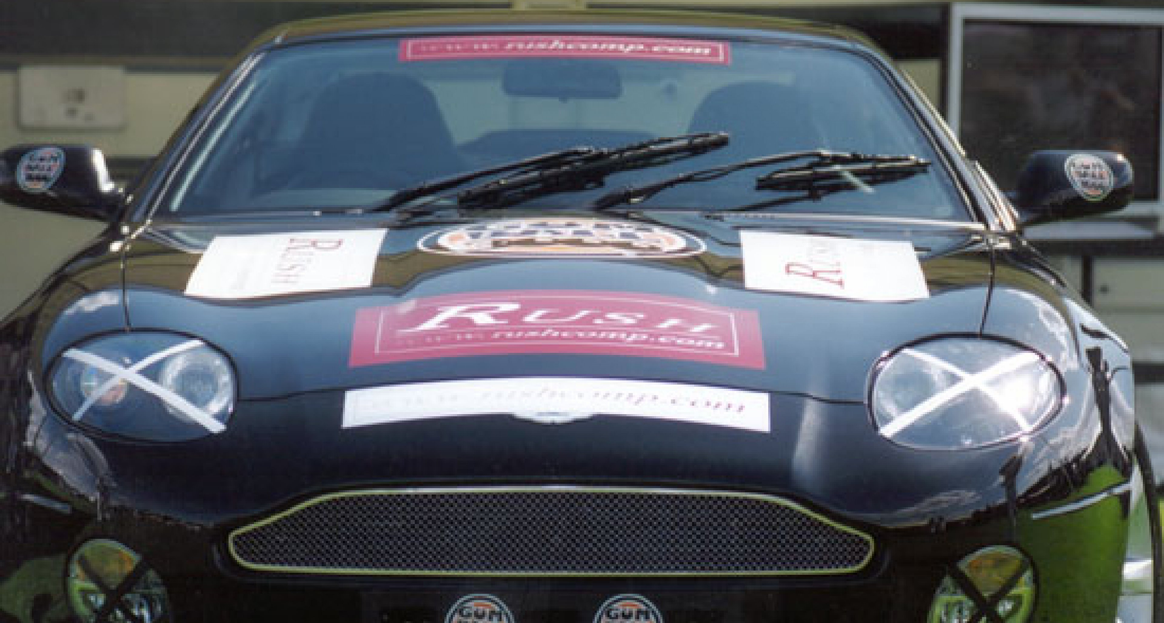 Win an Aston Martin DB7 Vantage and entry to the Gumball Rally!