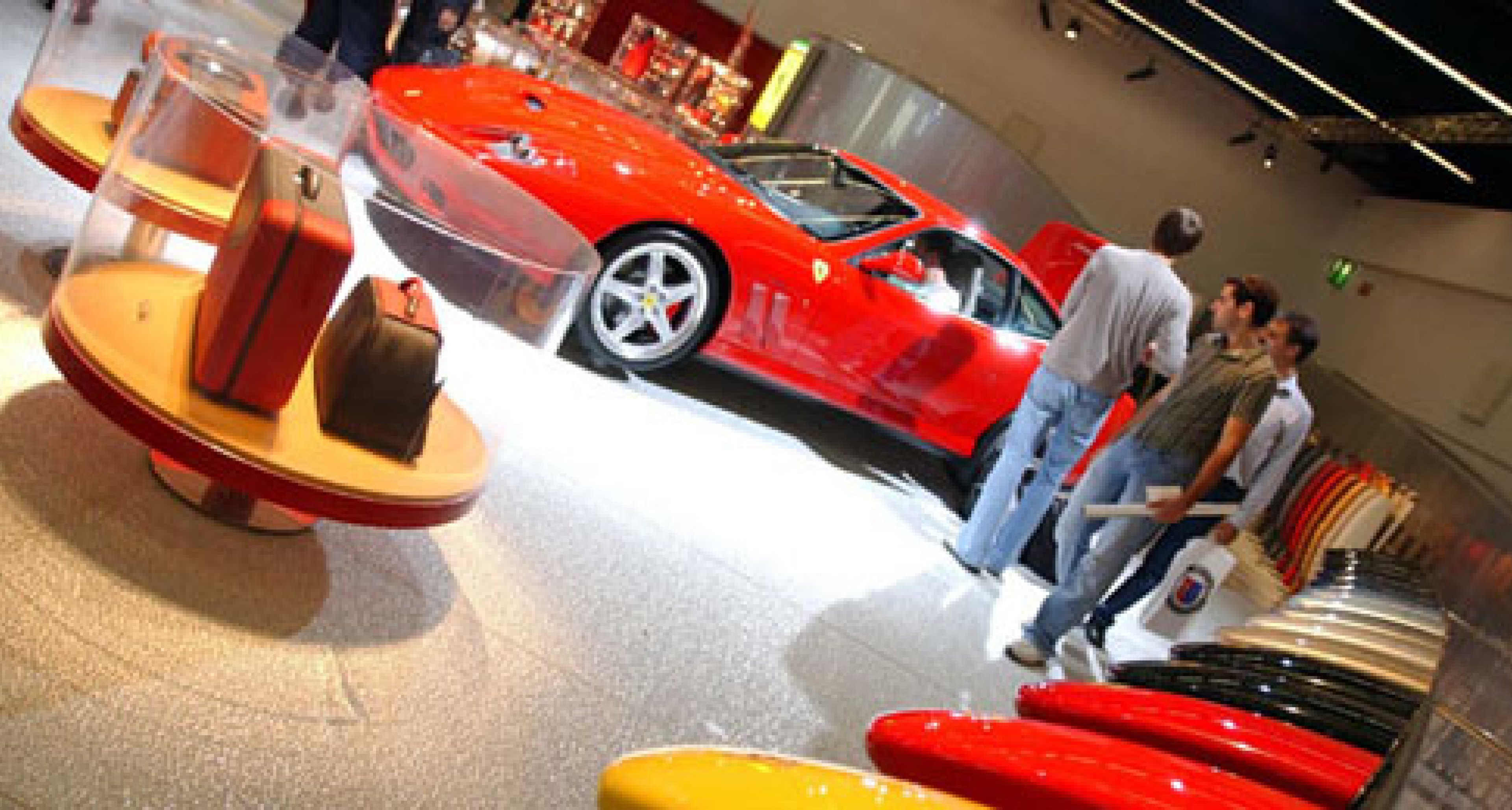 Ferrari at the Frankfurt IAA 2003