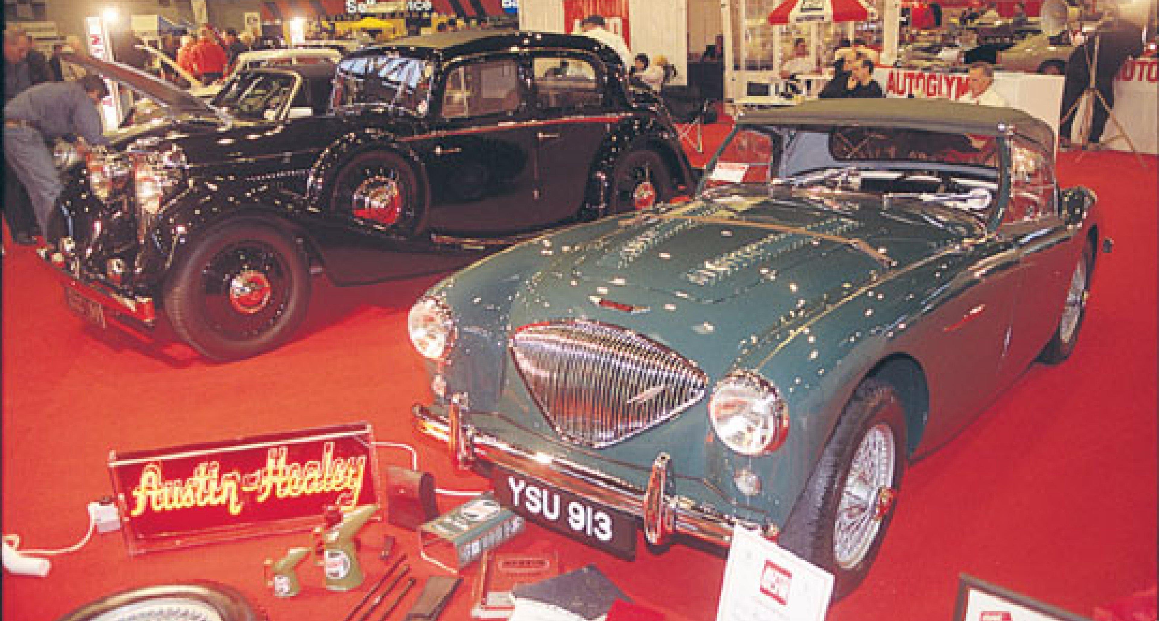 The International Classic Motor Show - NEC, Birmingham UK 2003