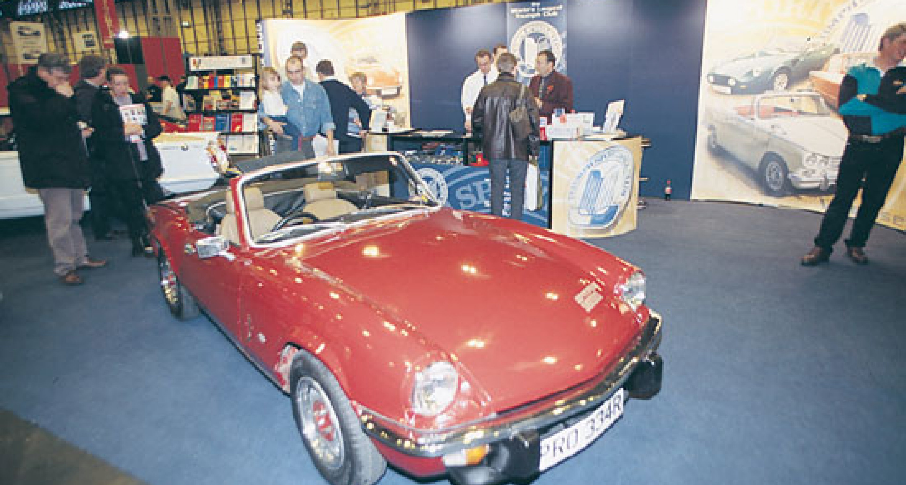 International Classic Motor Show Competition - The Winners