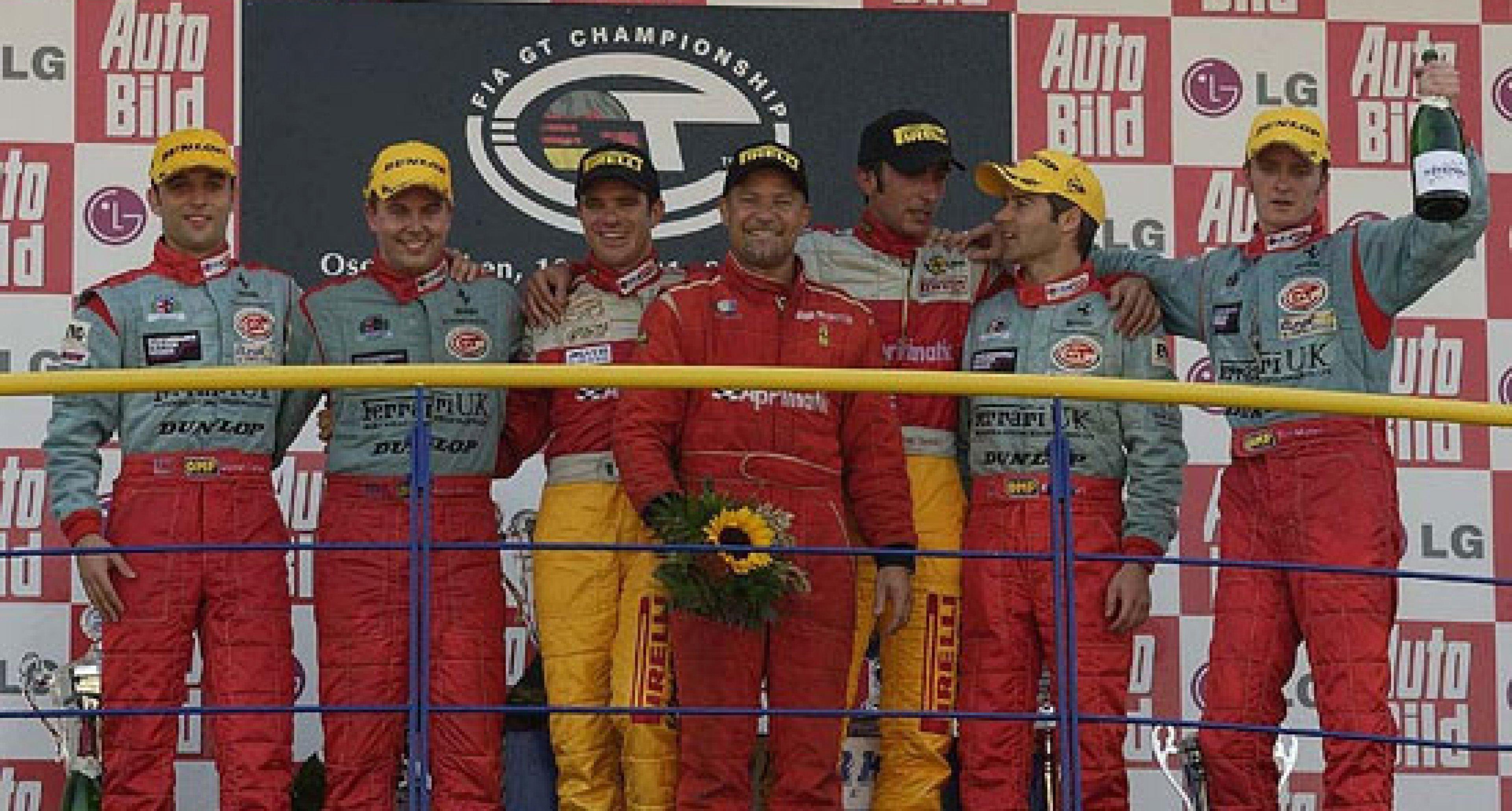 Team Maranello Concessionaires - Oschersleben, Germany 2nd & 3rd in class