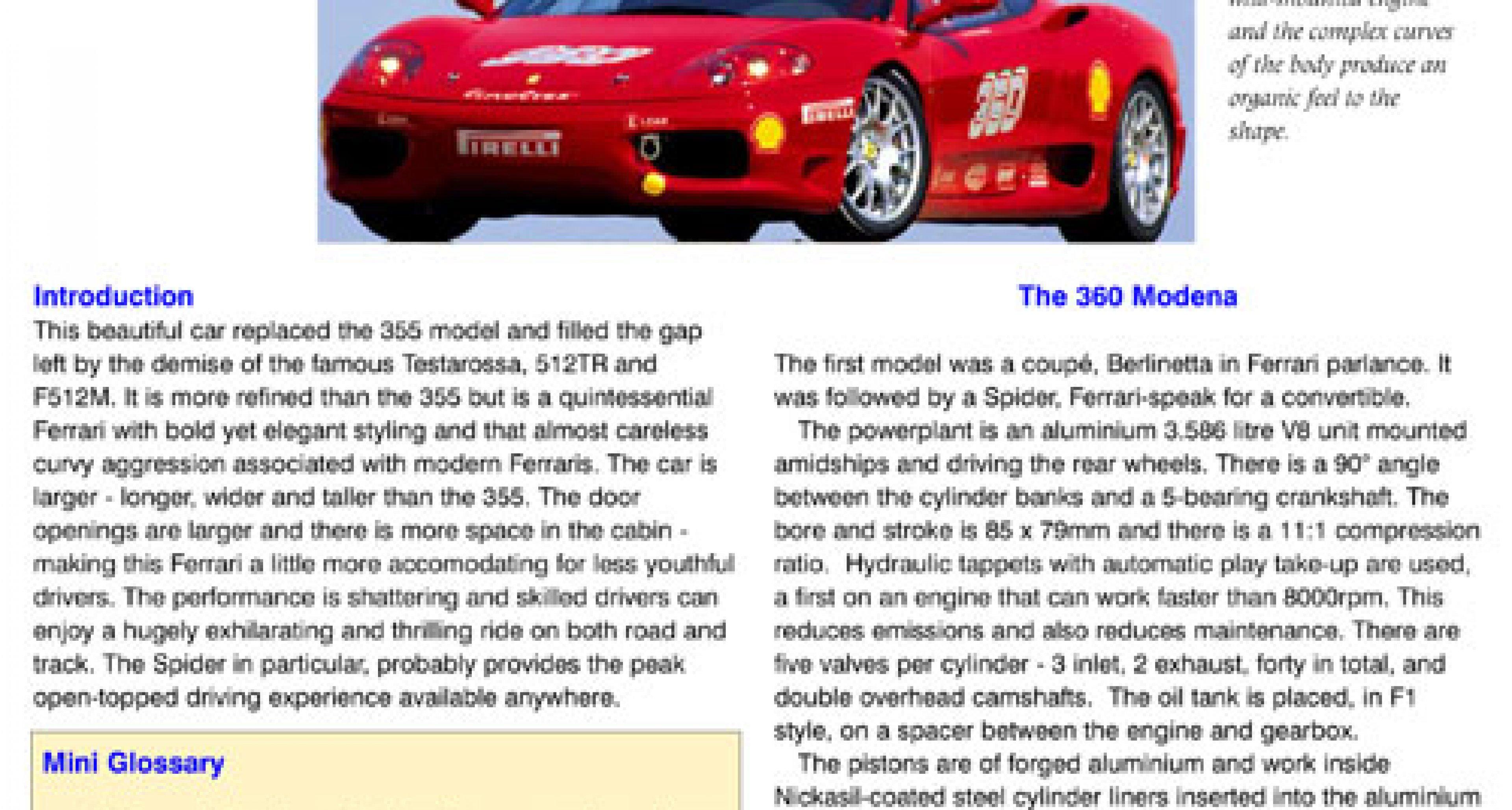 Ferrari Owners' Club of Great Britain & Sportscarguides.com launch unique new service