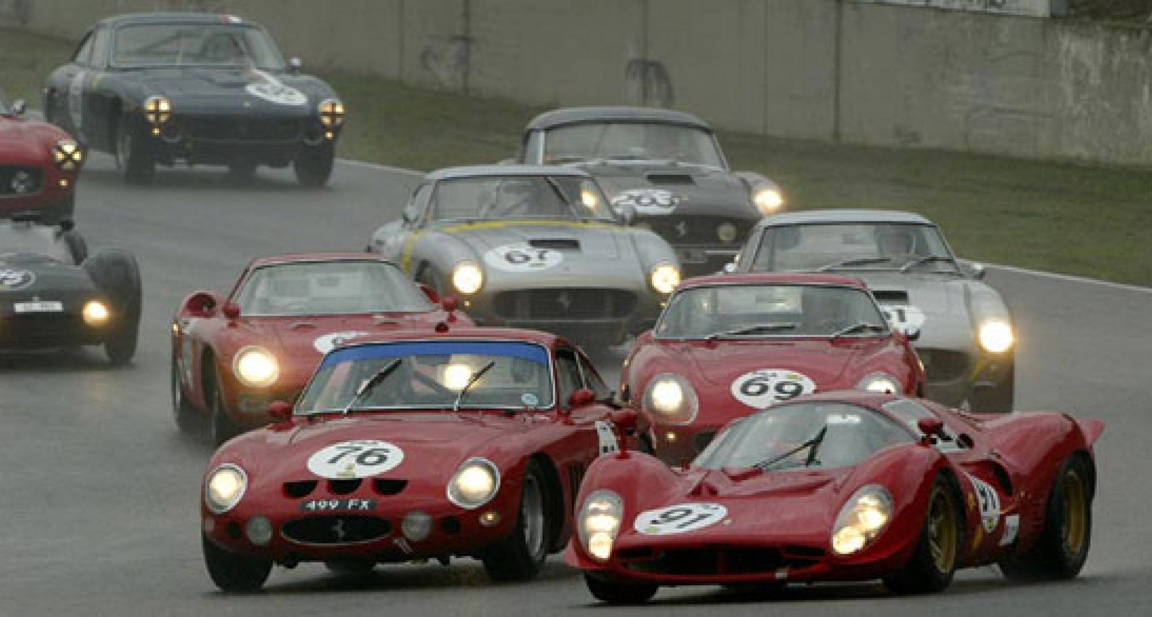 Fifty thousand turn up for Ferrari and Maserati party at Mugello 2003