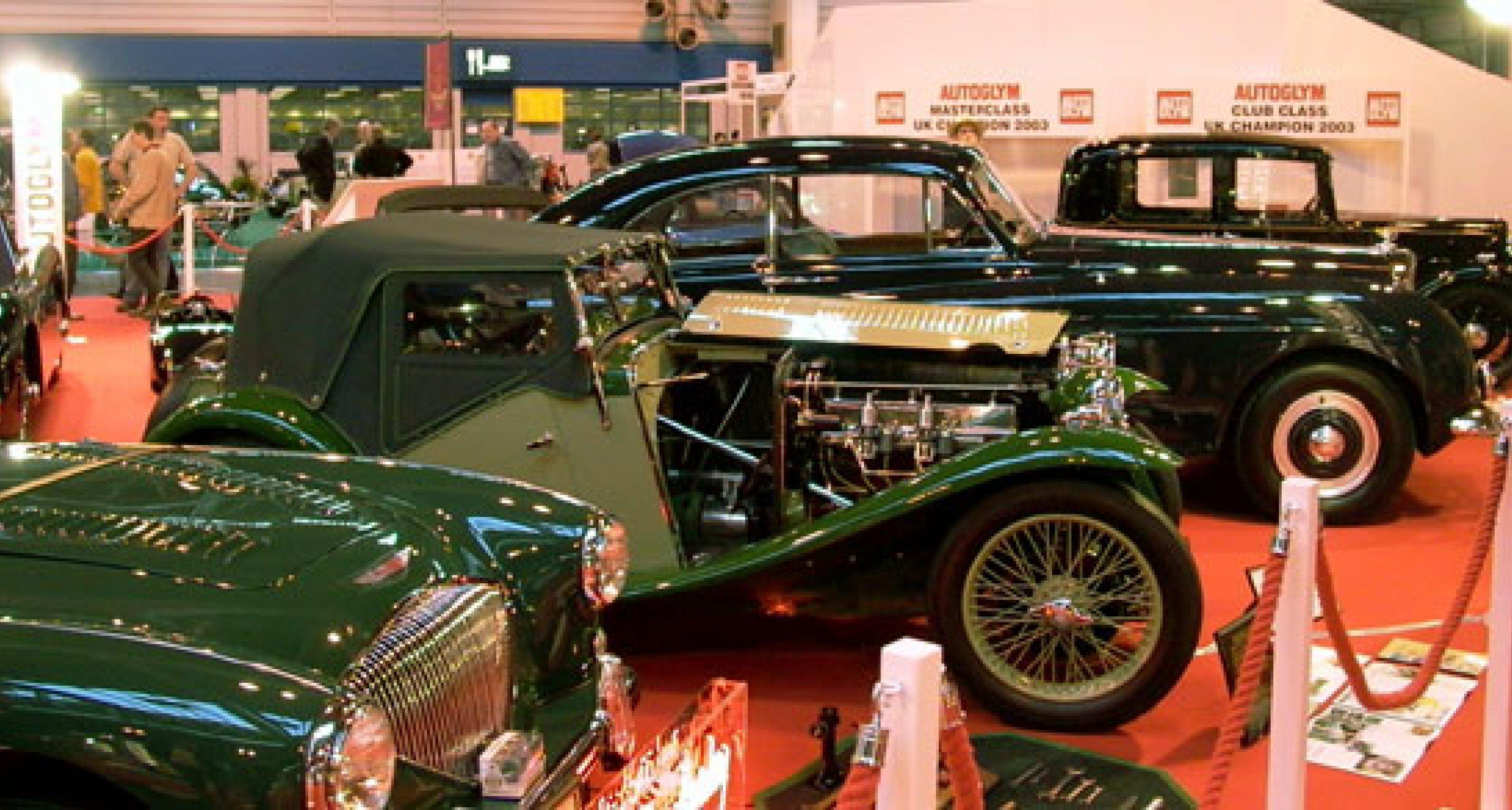 International Classic Motor Show 2003, NEC UK - Review