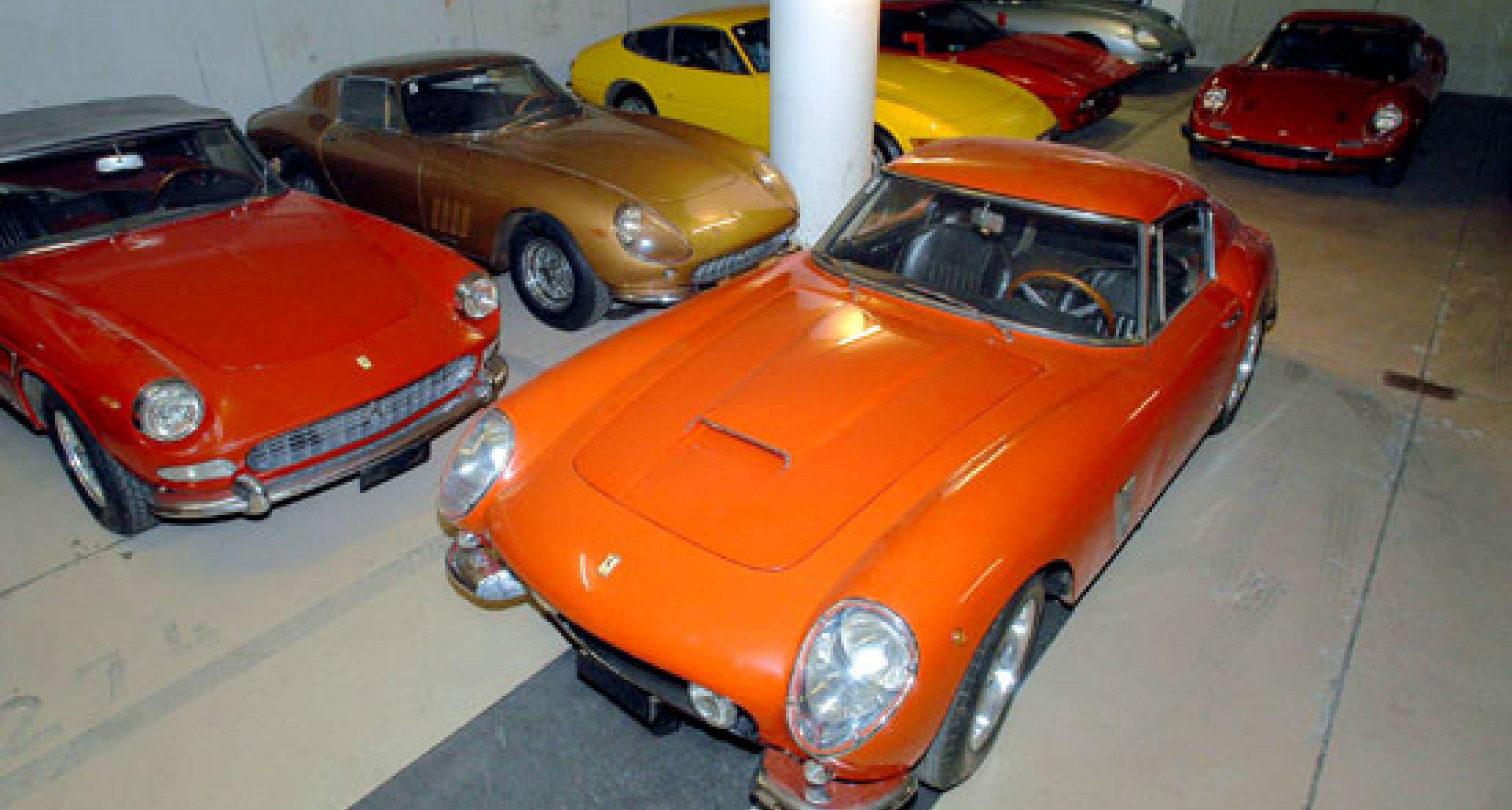 Bonhams Ferrari Auktion in Gstaad 2003  – Vorschau