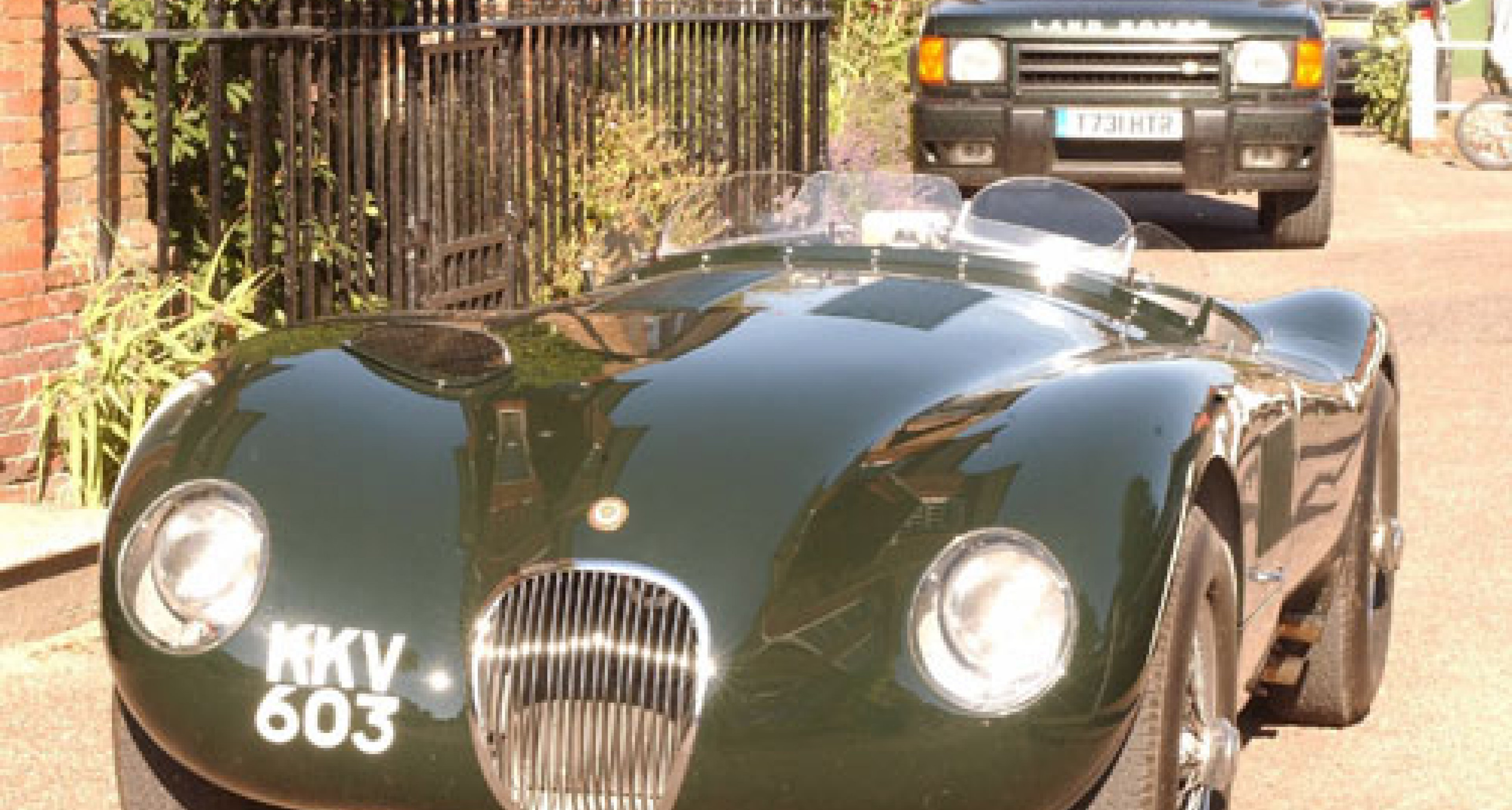 Racing Green Cars announce the world's most perfect reproduction C-Type Jaguar
