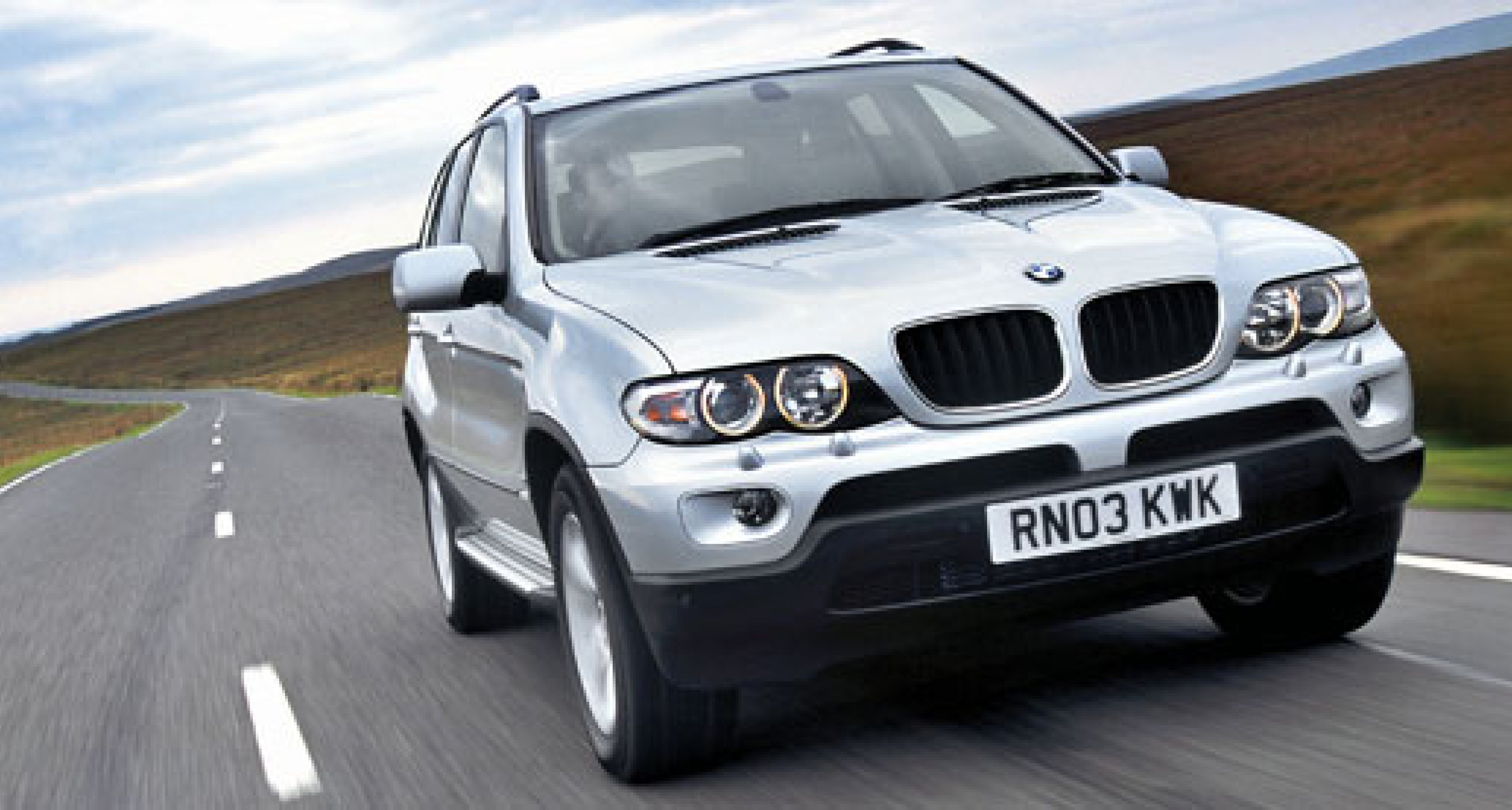 New-look BMW X5 for 2004