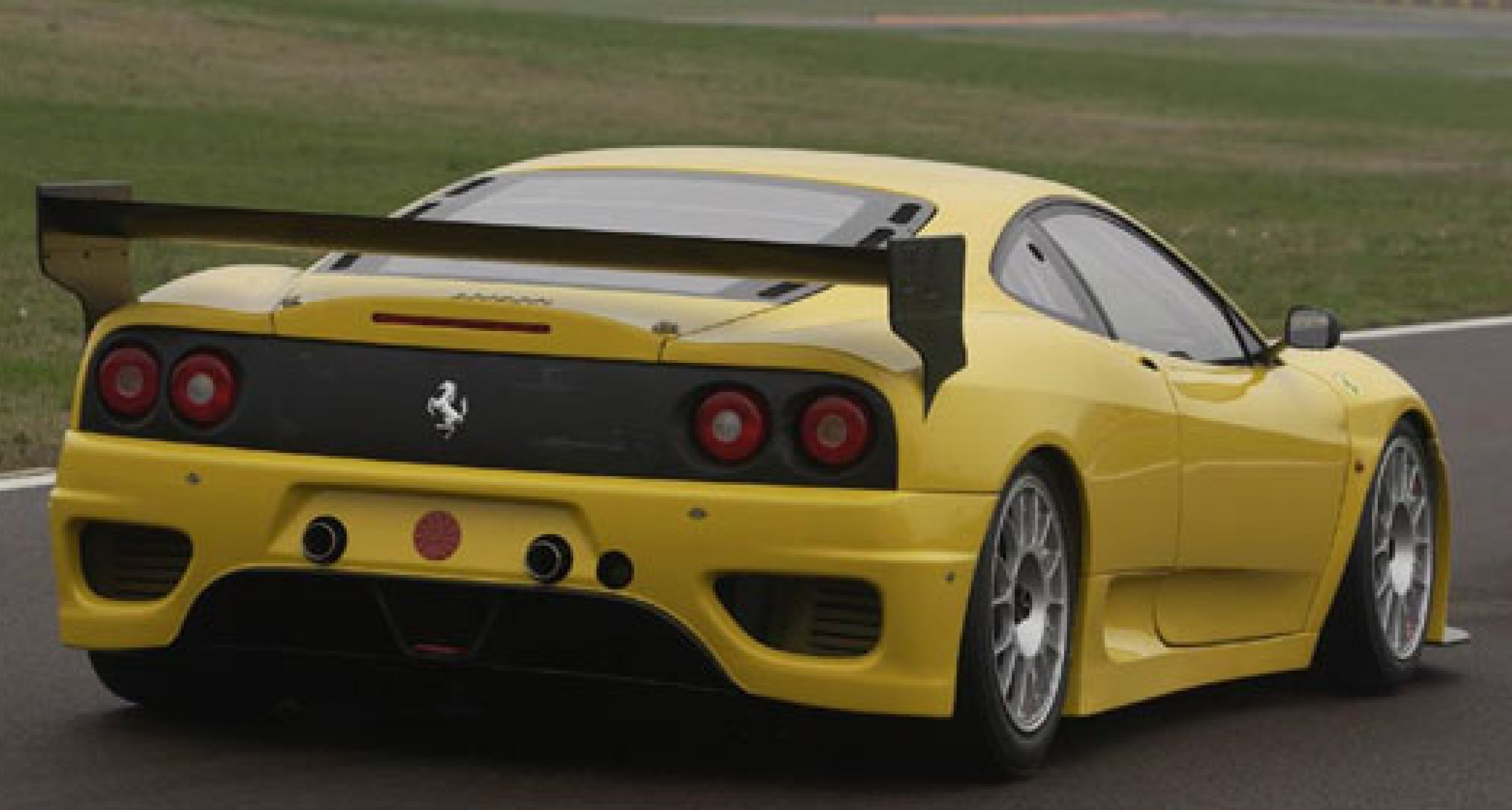 Ferrari at the Bologna Motor Show - launch of the 2004 360GTC