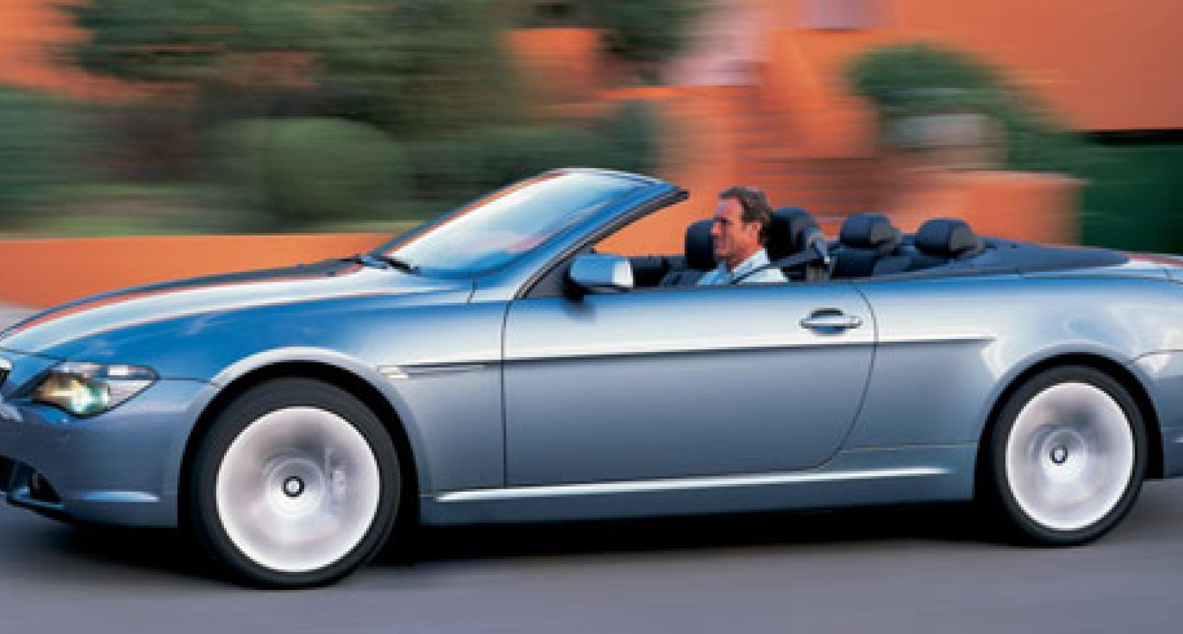 BMW anounces new 6 - Series convertible