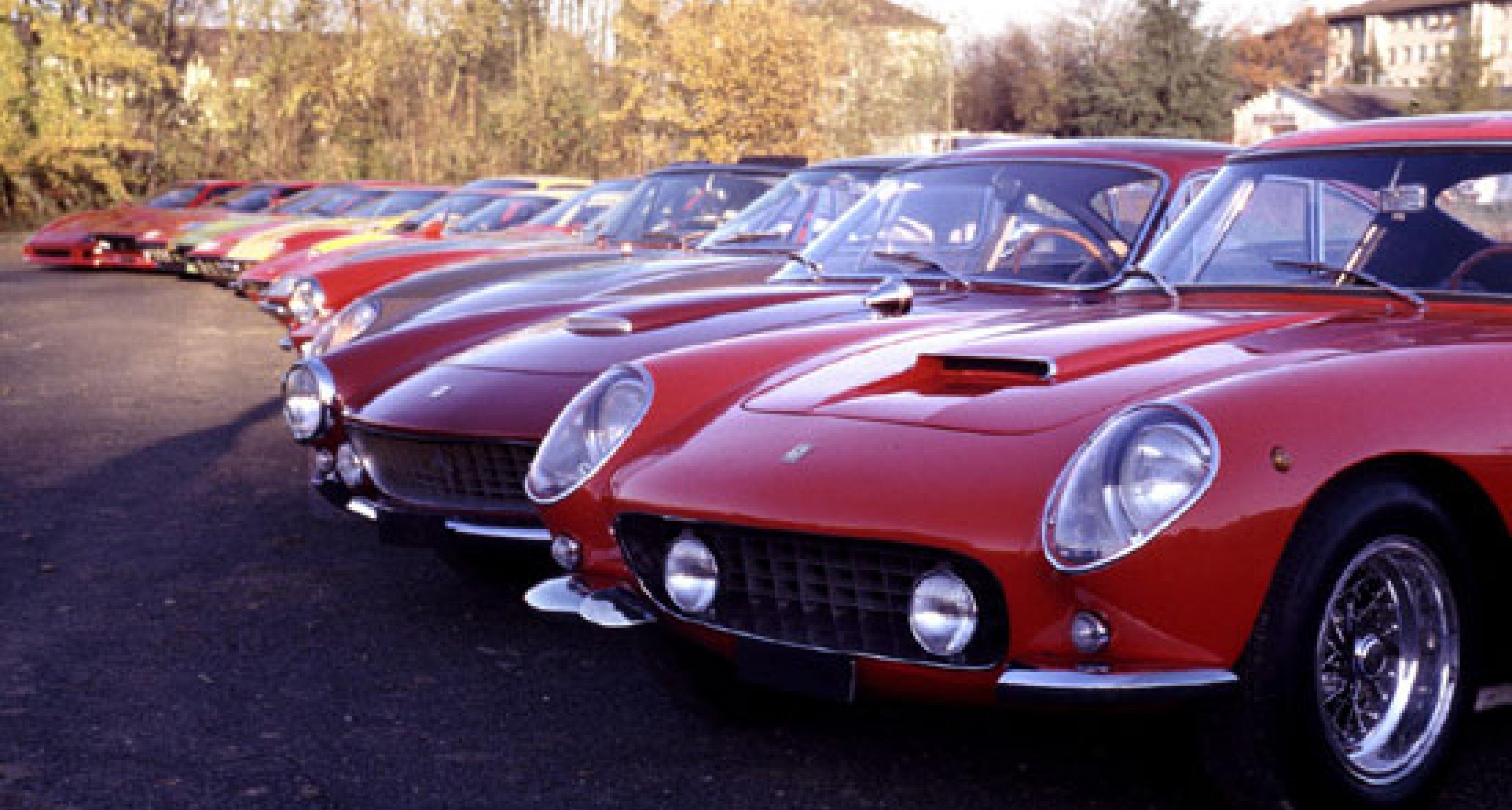 Bonhams all-Ferrari Sale at Gstaad 19 Dec 2003 - Preview