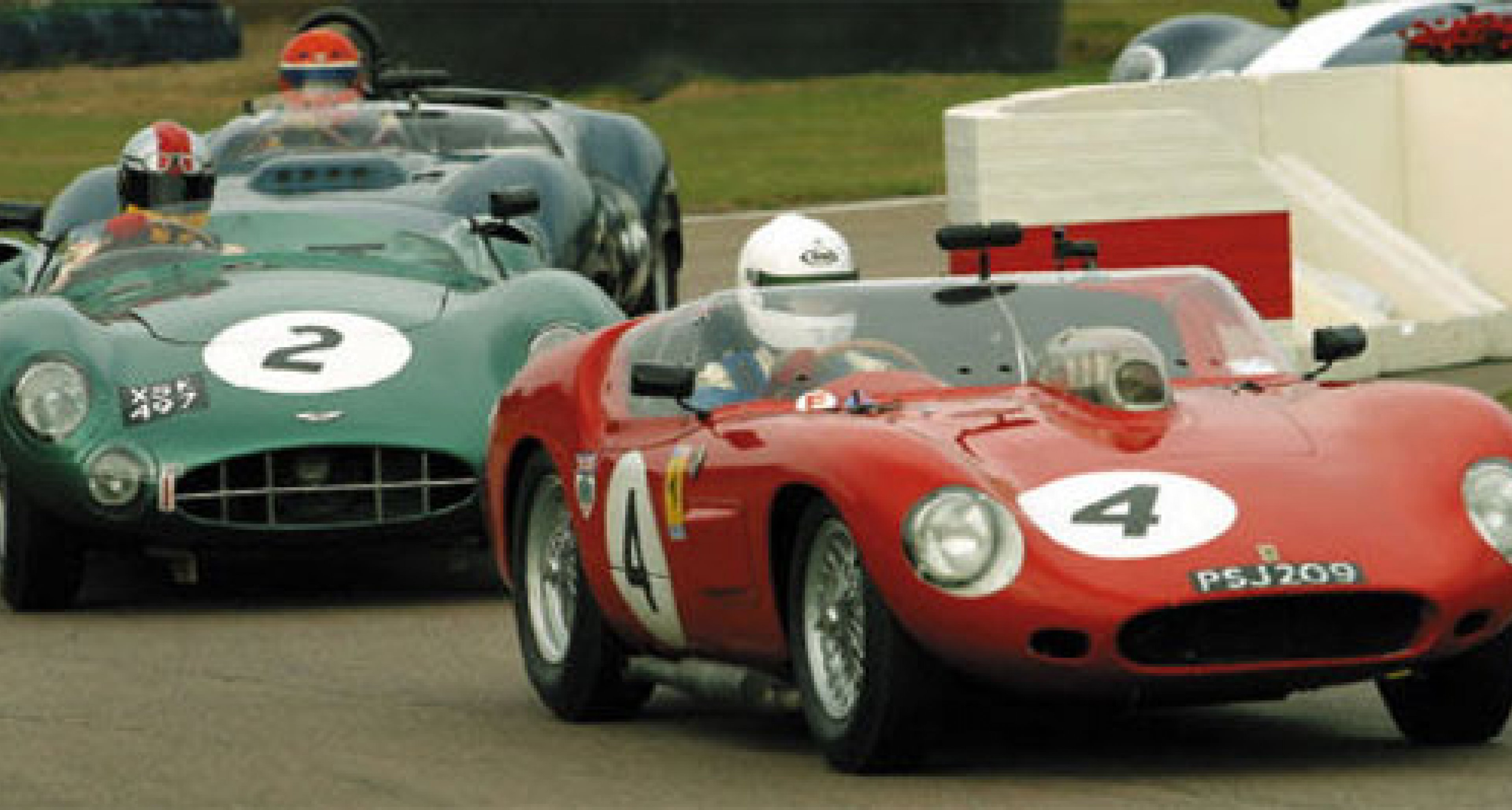 Ferrari Hat-Trick - Tony Dron describes his win in the Ferrari 246S Dino at Goodwood 2003