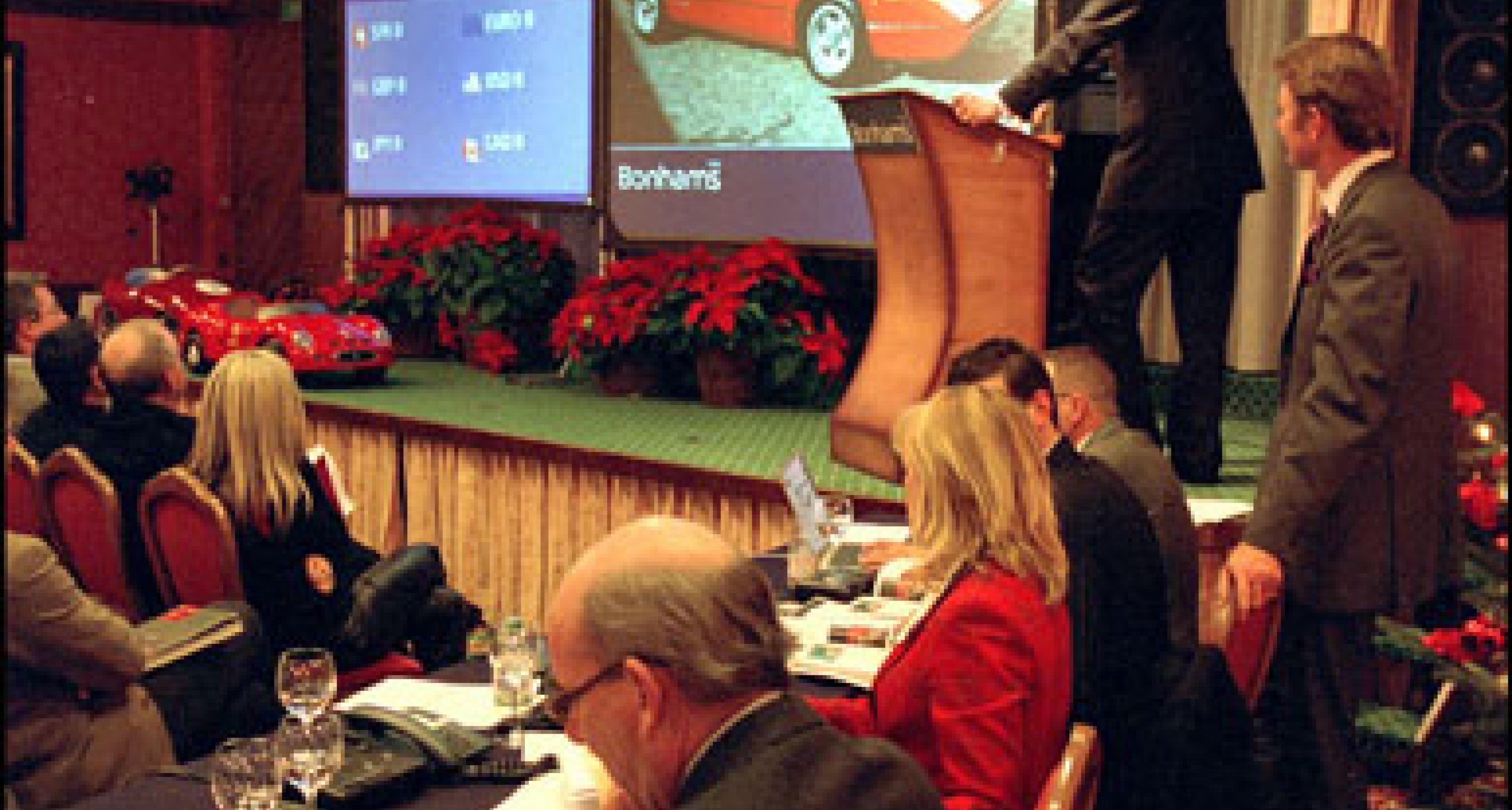 Bonhams Ferrari Auktion in Gstaad 2003 - Rückblick