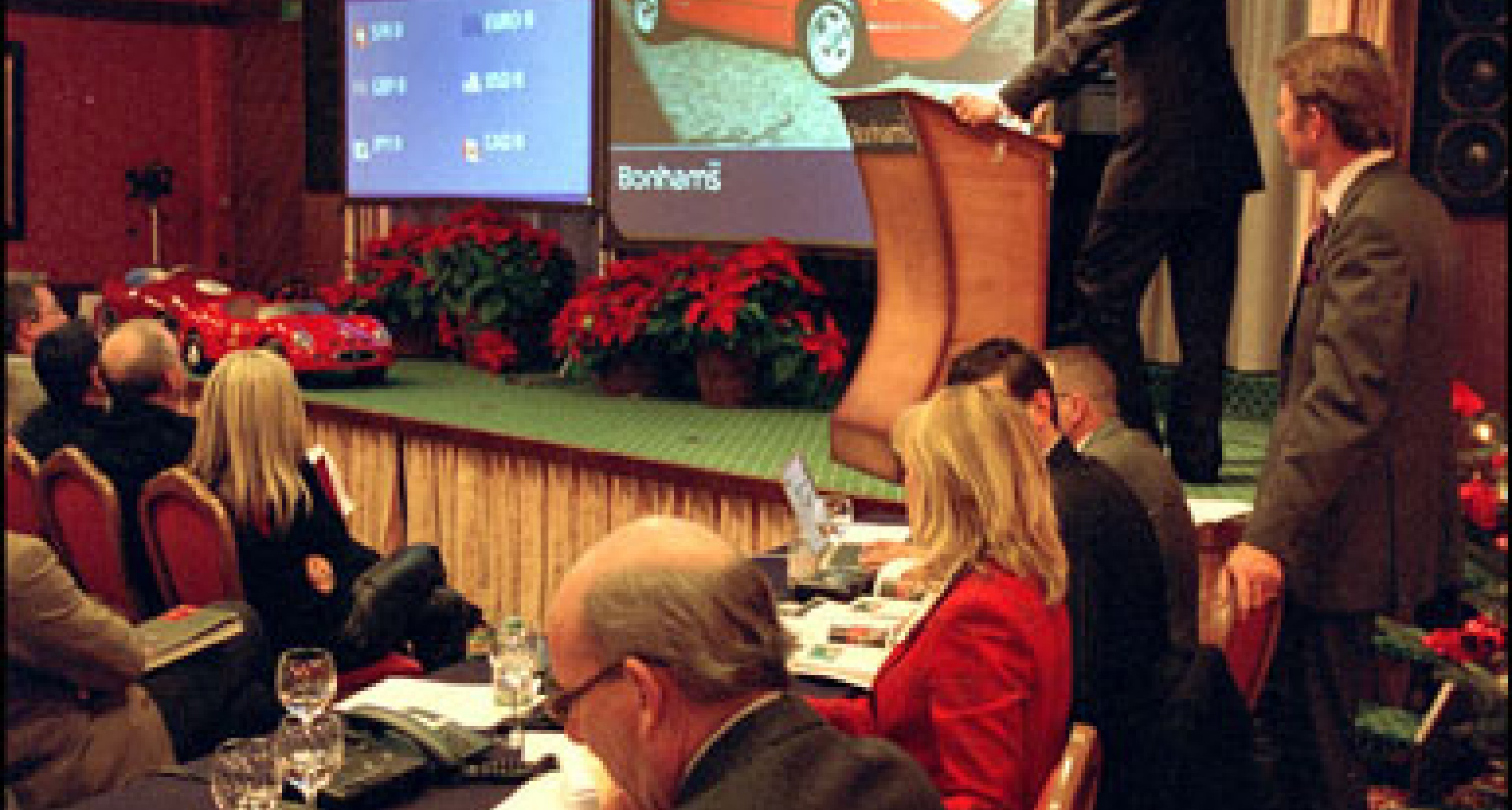 Bonhams all-Ferrari Sale at Gstaad 19 Dec 2003 - Review