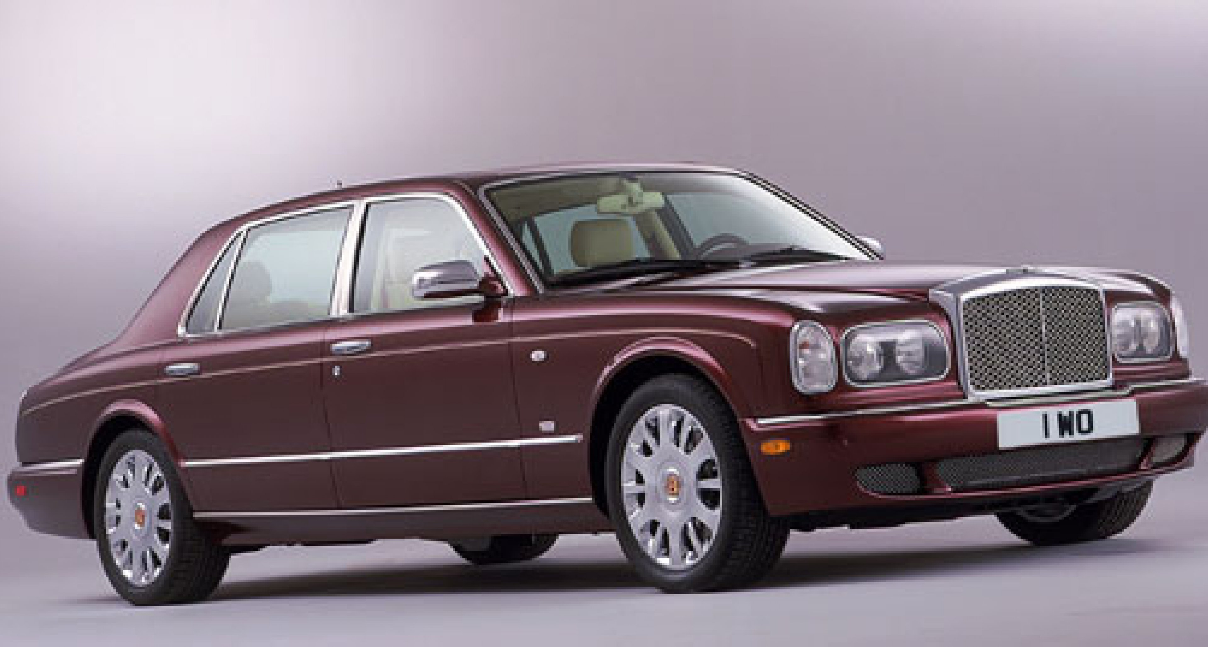 Bentley at Detroit 2004 - New Arnage T-24  and RL Mulliner announced