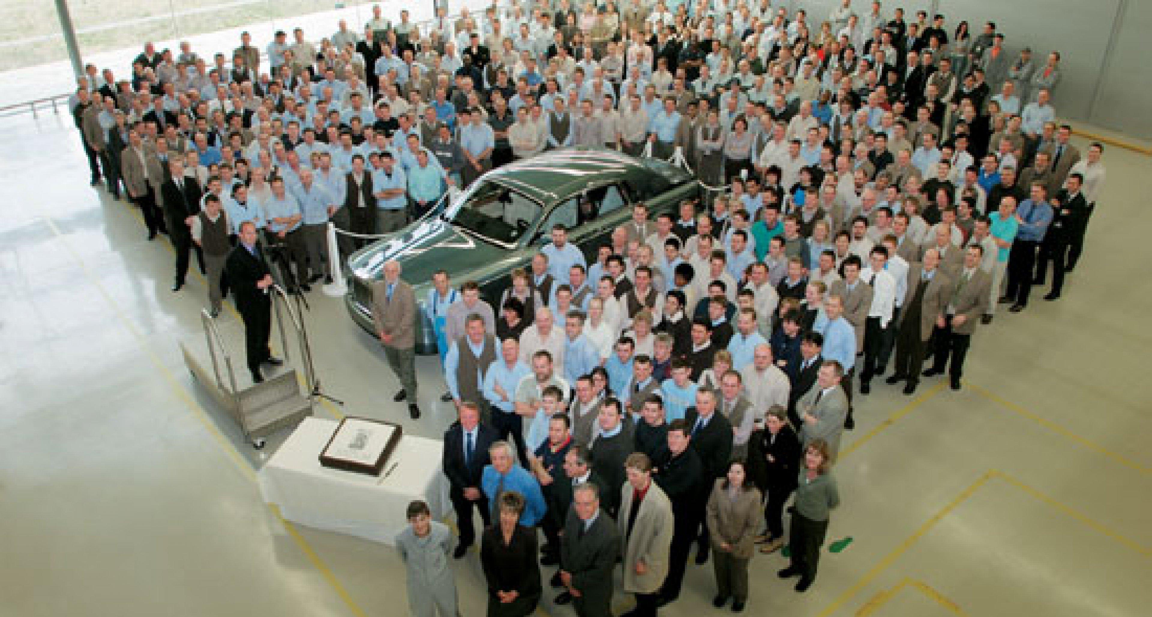 Rolls-Royce celebrates 500th Phantom