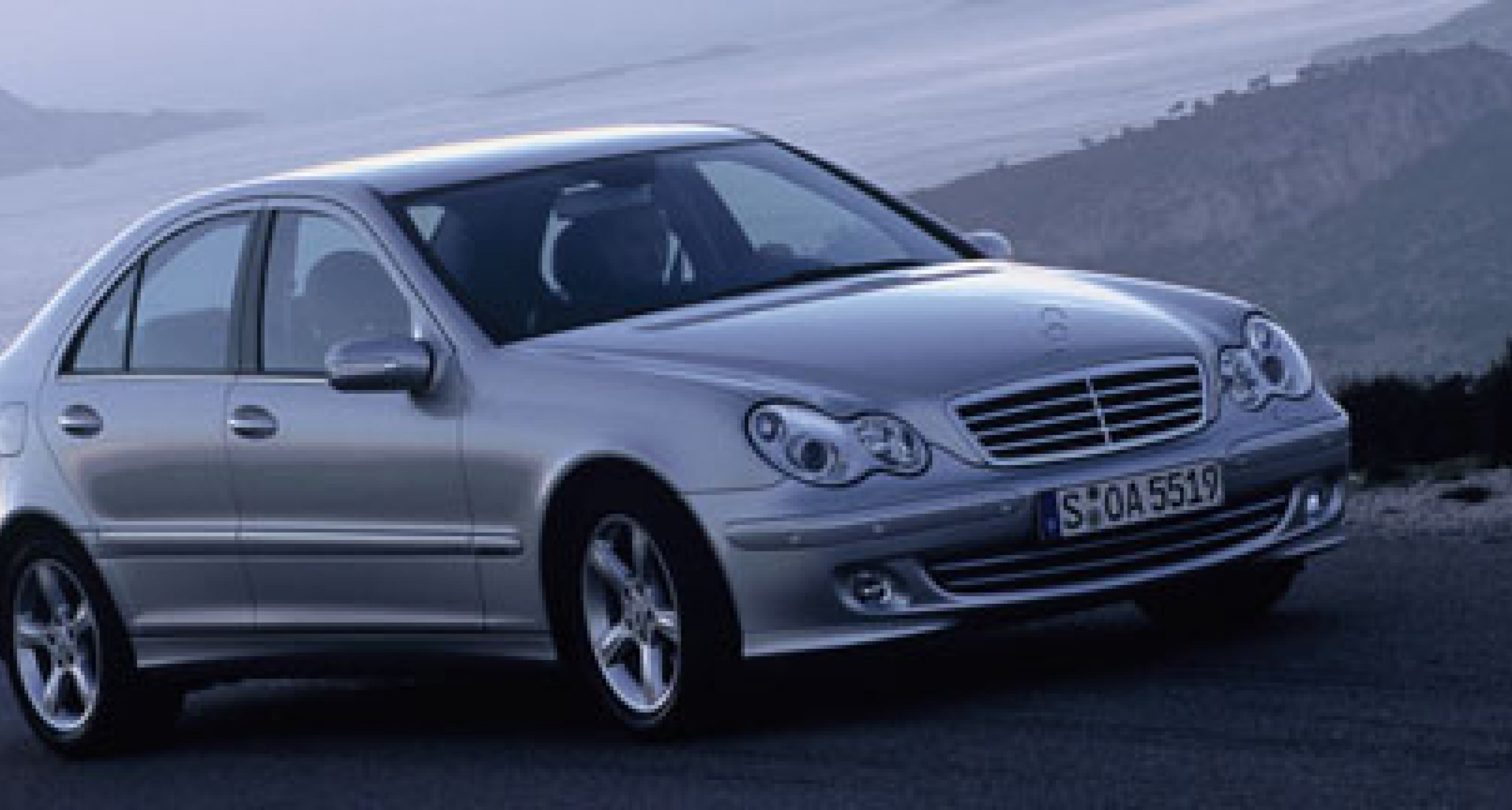 Facelifted Mercedes C Class for 2004 includes 367bhp C 55 AMG