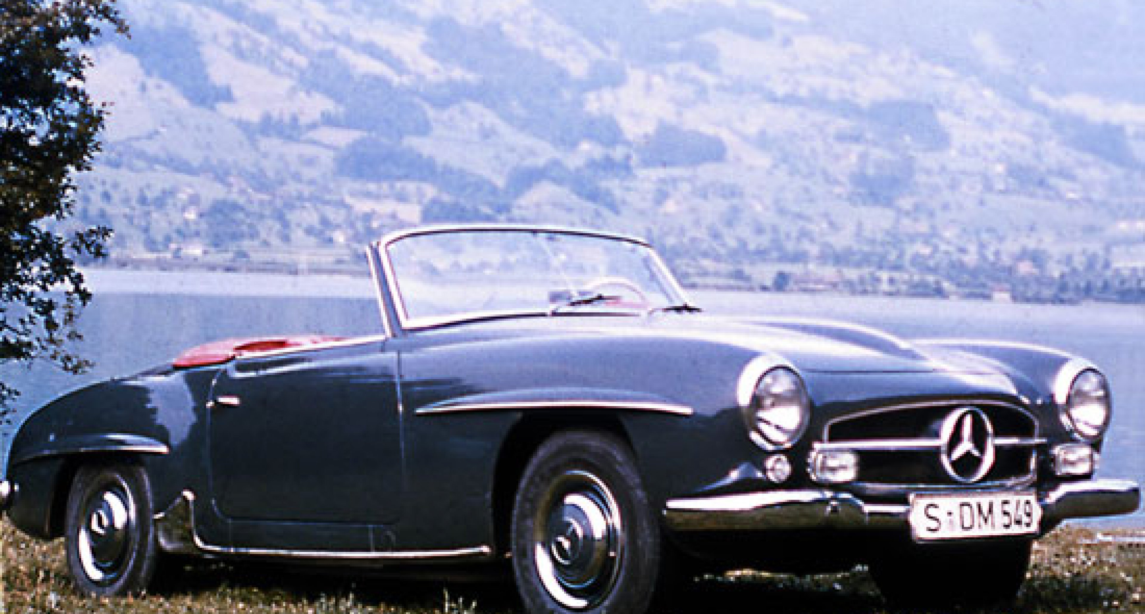 "Mercedes-Benz 190SL - the 300 SL's ""little brother"""