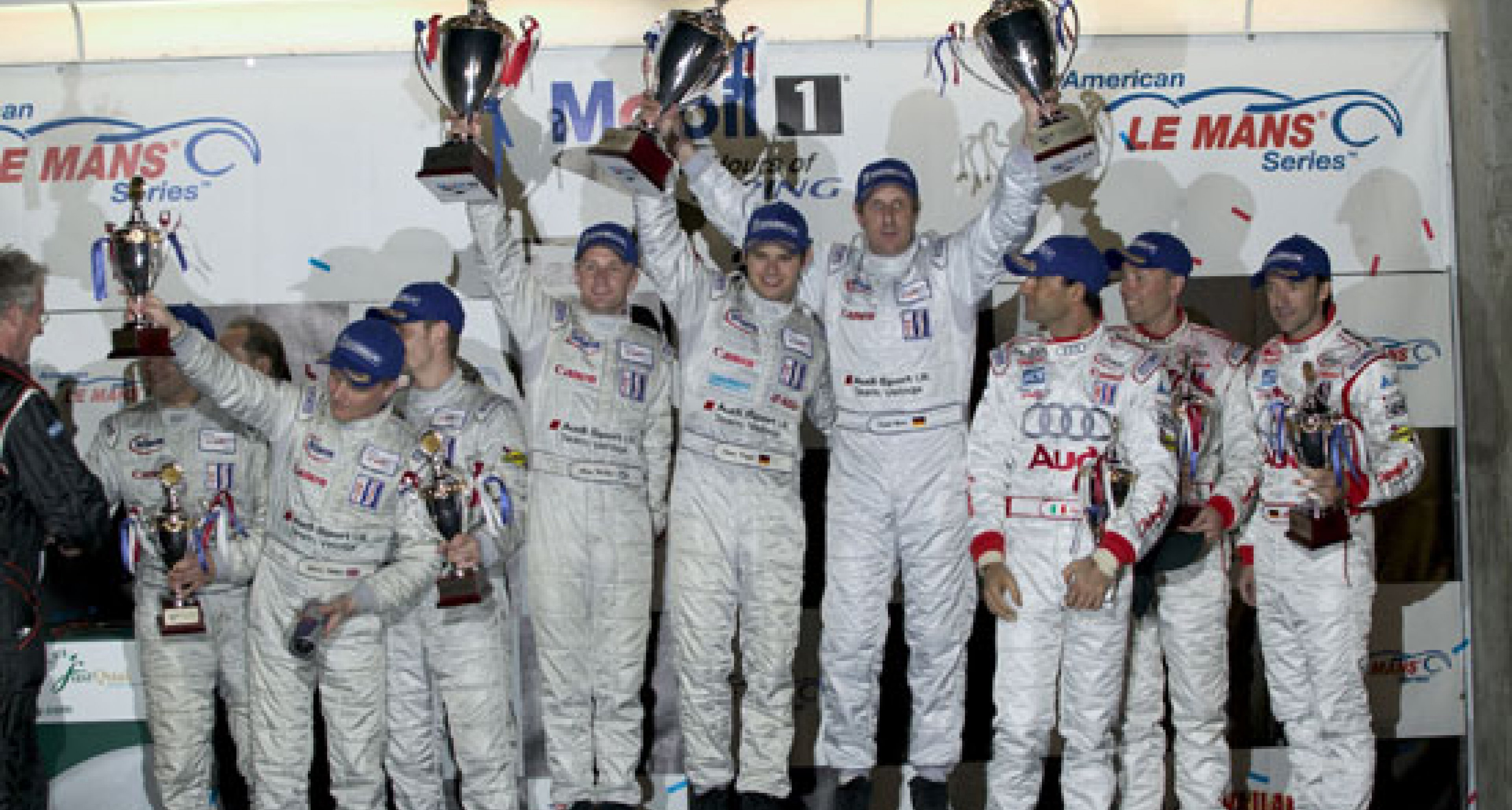 """British"" Audi heads team's 1, 2, 3 in America's biggest sports car race"