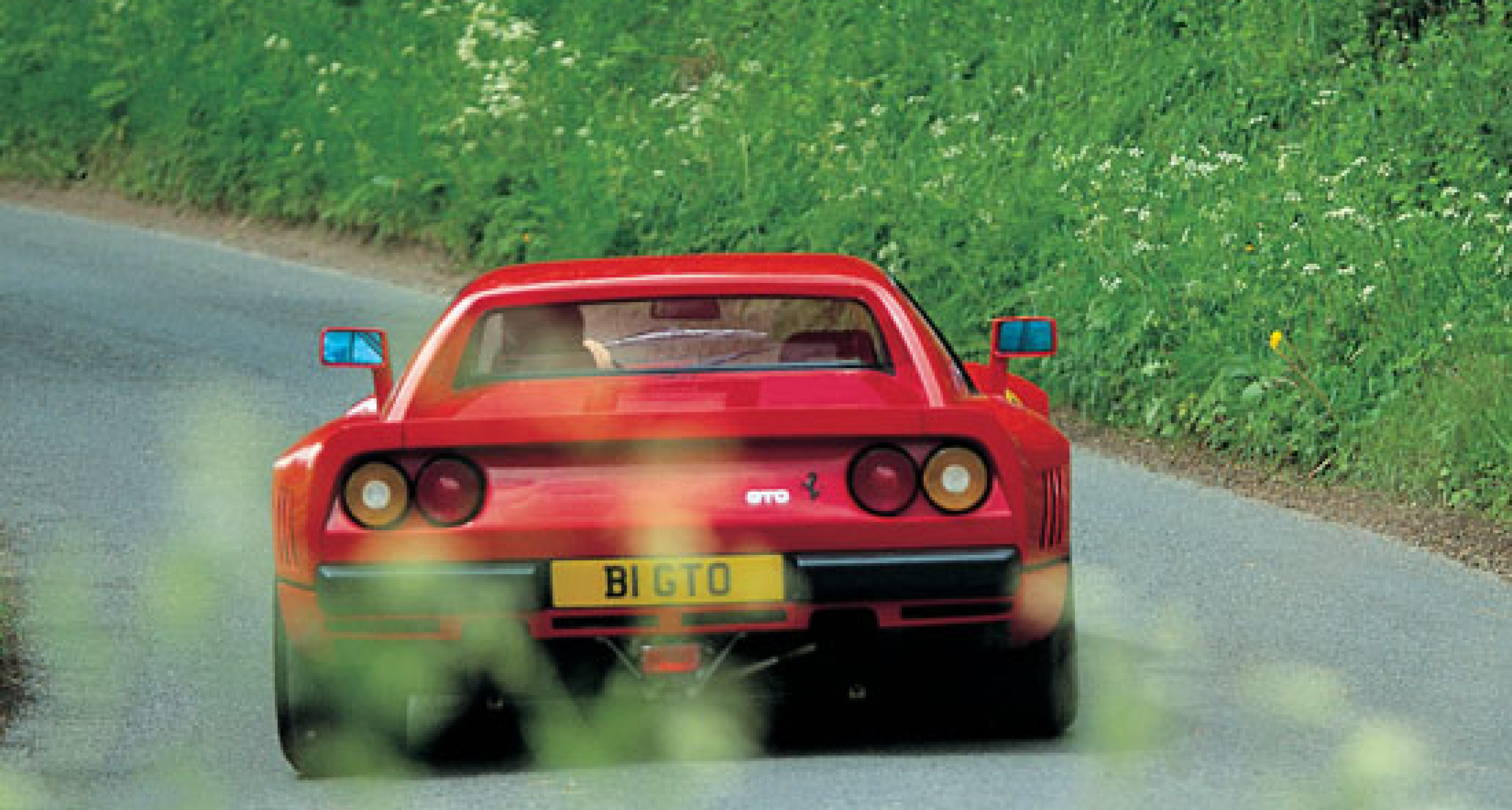 The ex-Eddie Irvine Ferrari 288GTO