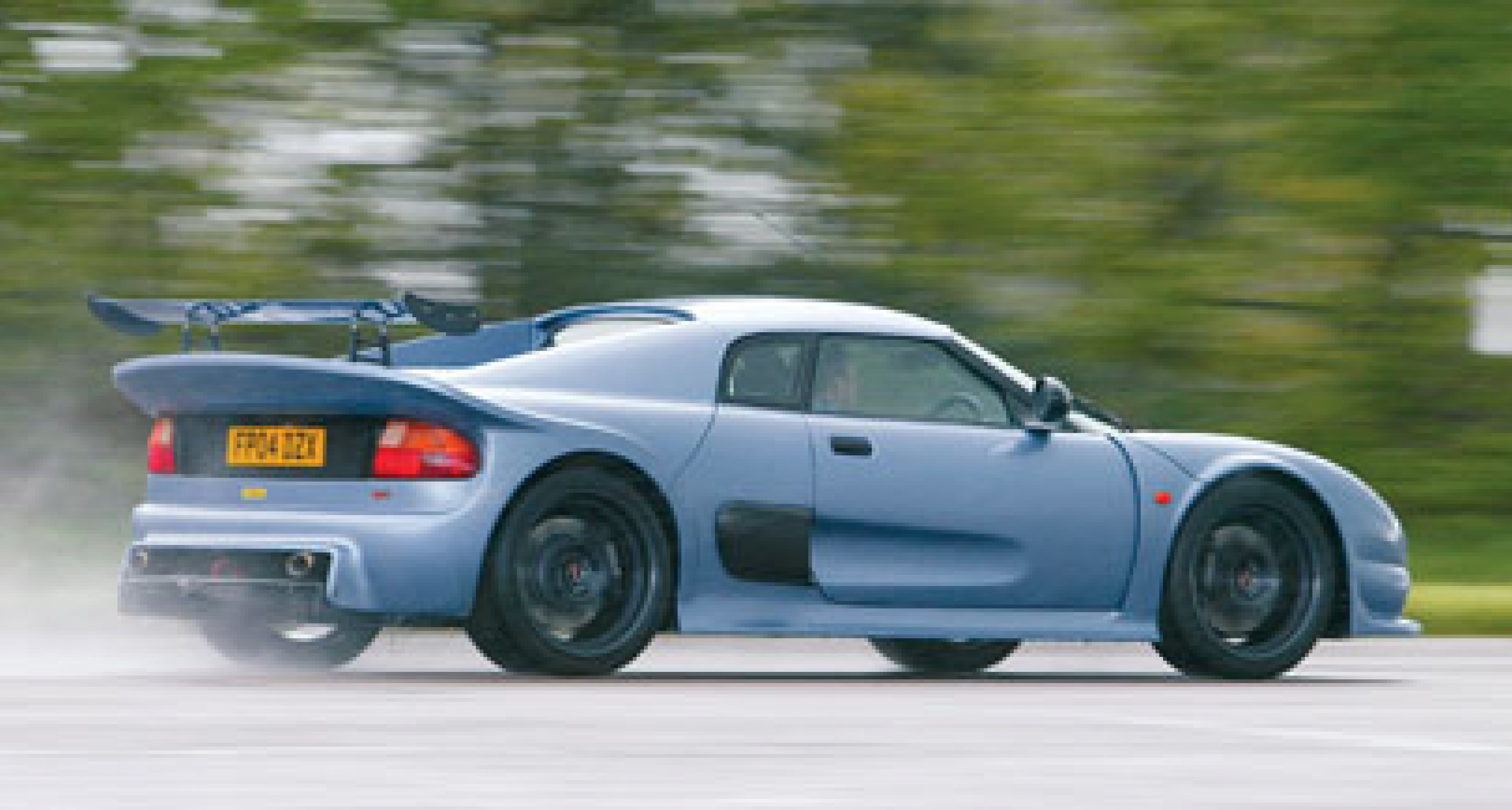 Driving the Noble M400 at the Goodwood Festival