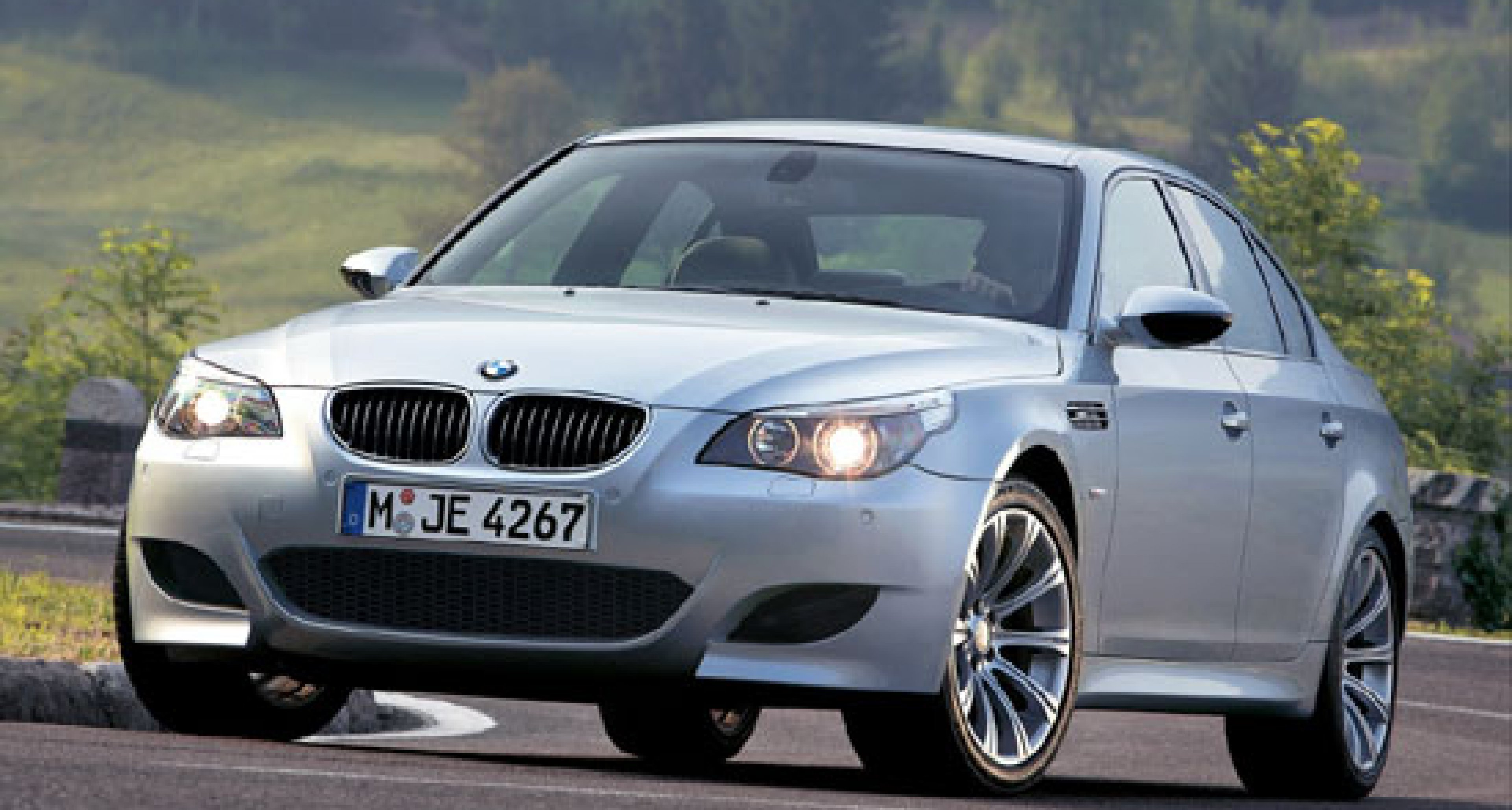 The new BMW M5 for 2005