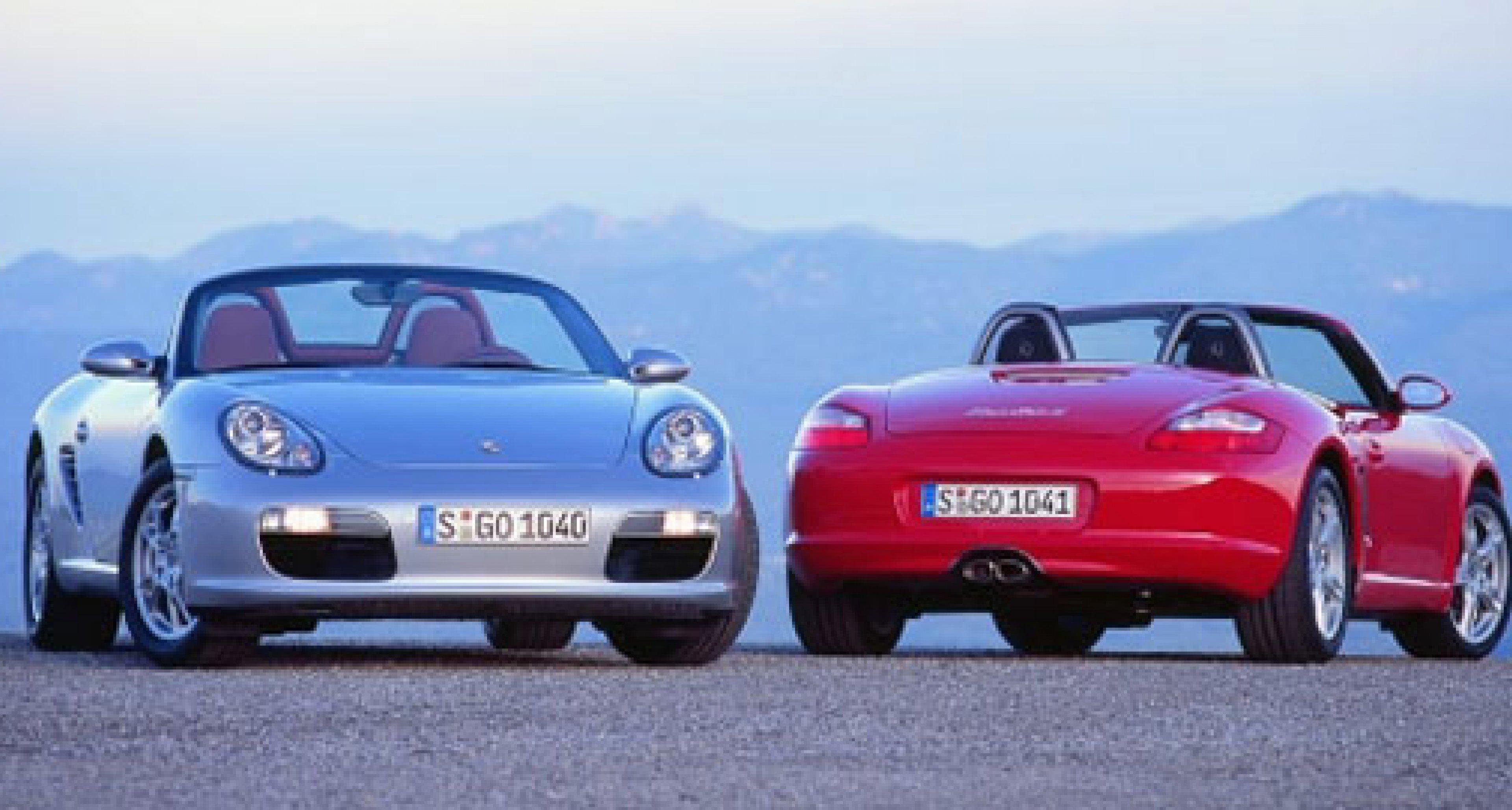 Porsche announce revised Boxster
