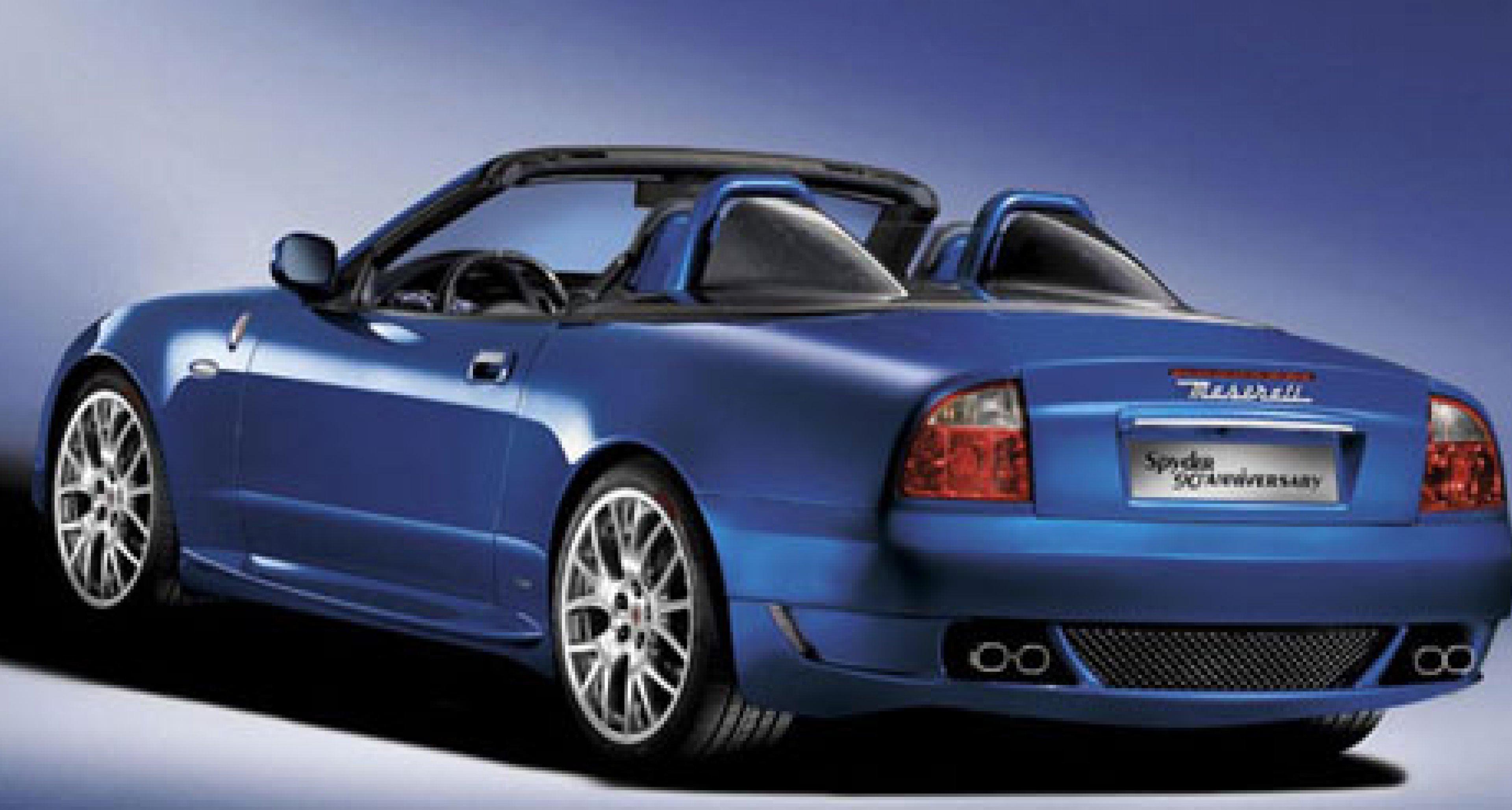 Limited Edition Spyder to Commemorate Maserati's 90th Anniversary