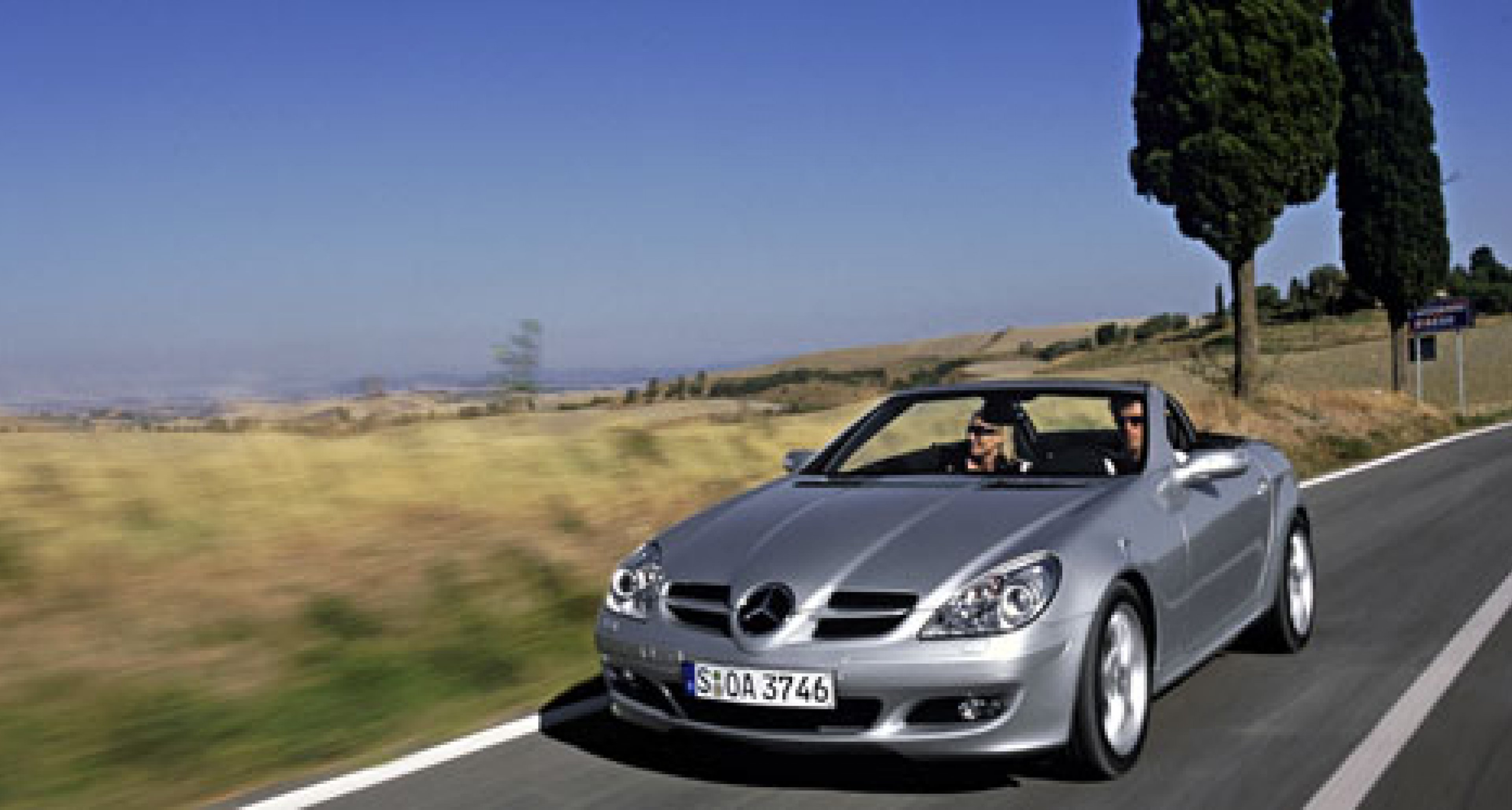 """""""Auto Trophy"""" for the Mercedes-Benz SLK-Class"""