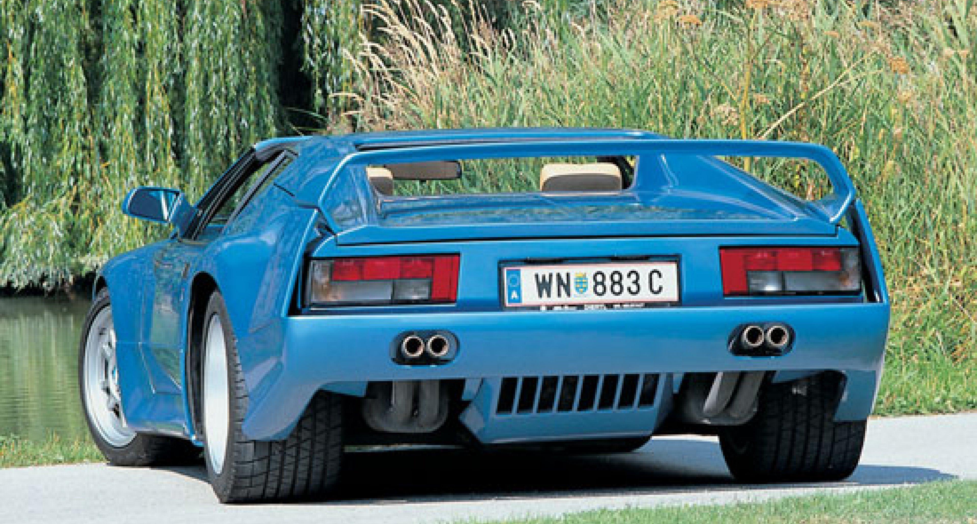 The Blue Panther - De Tomaso Pantera Si