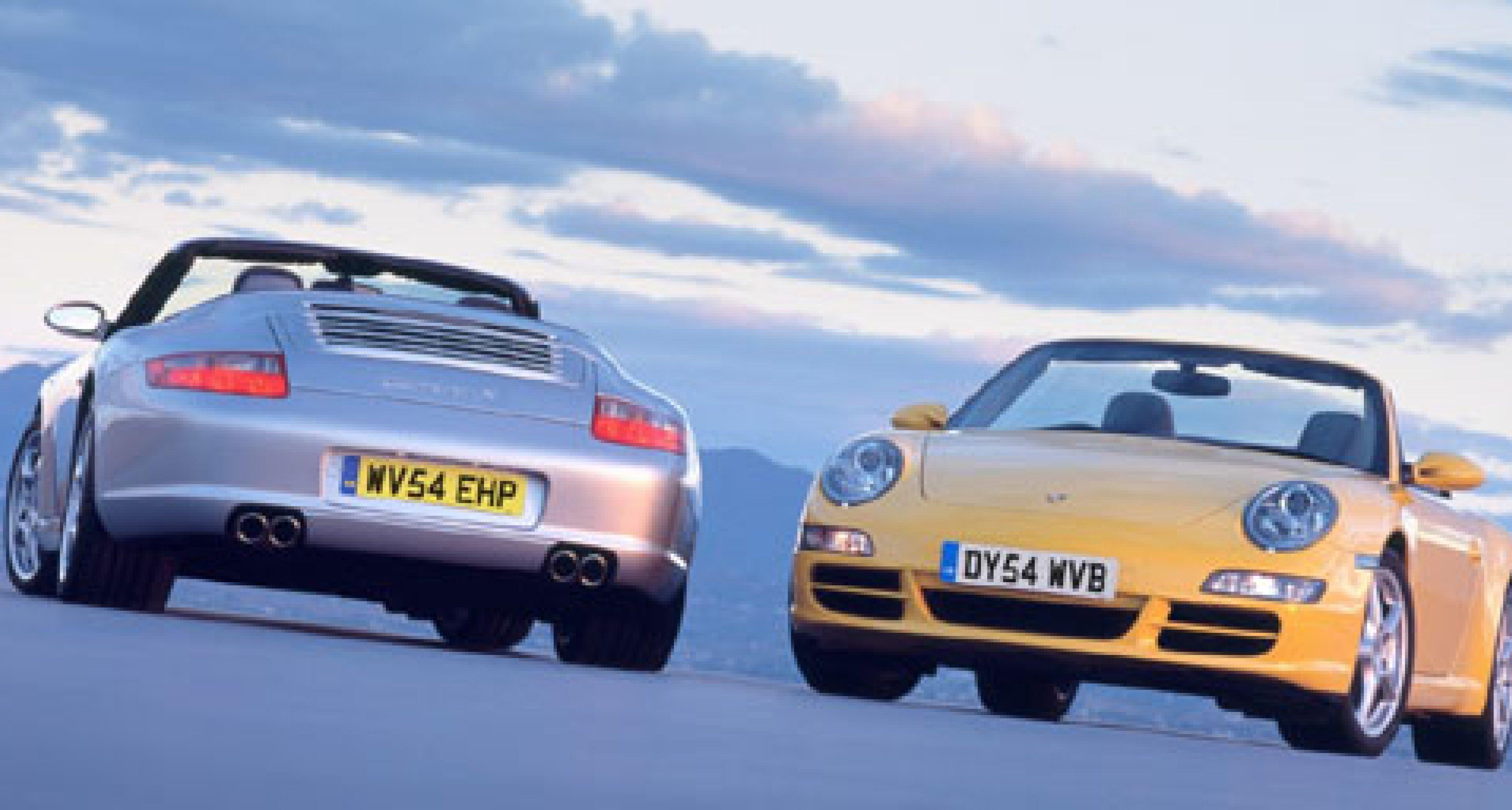 New Porsche 911 Cabriolet Revealed