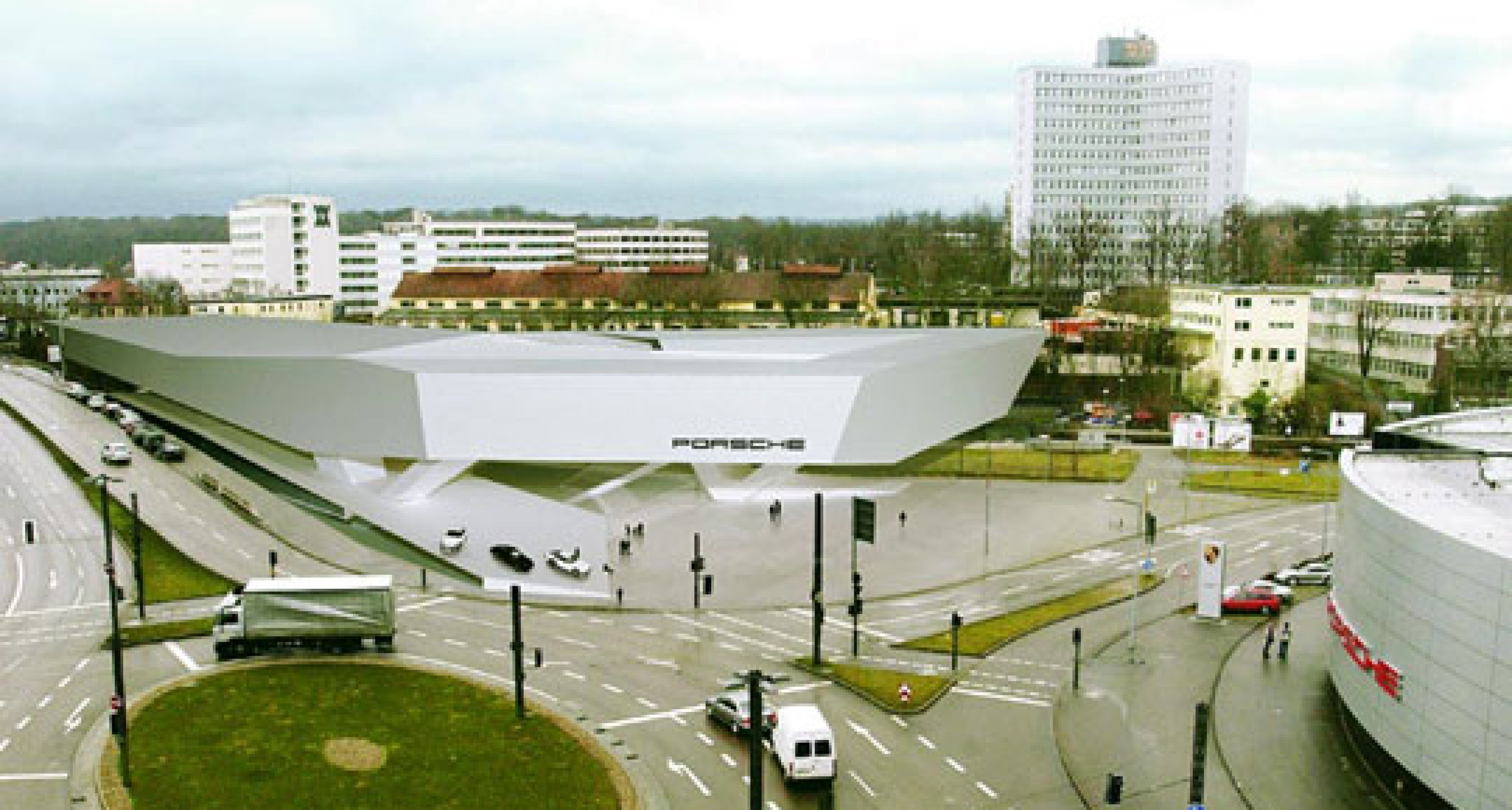 Porsche Plans New Museum at Stuttgart Factory