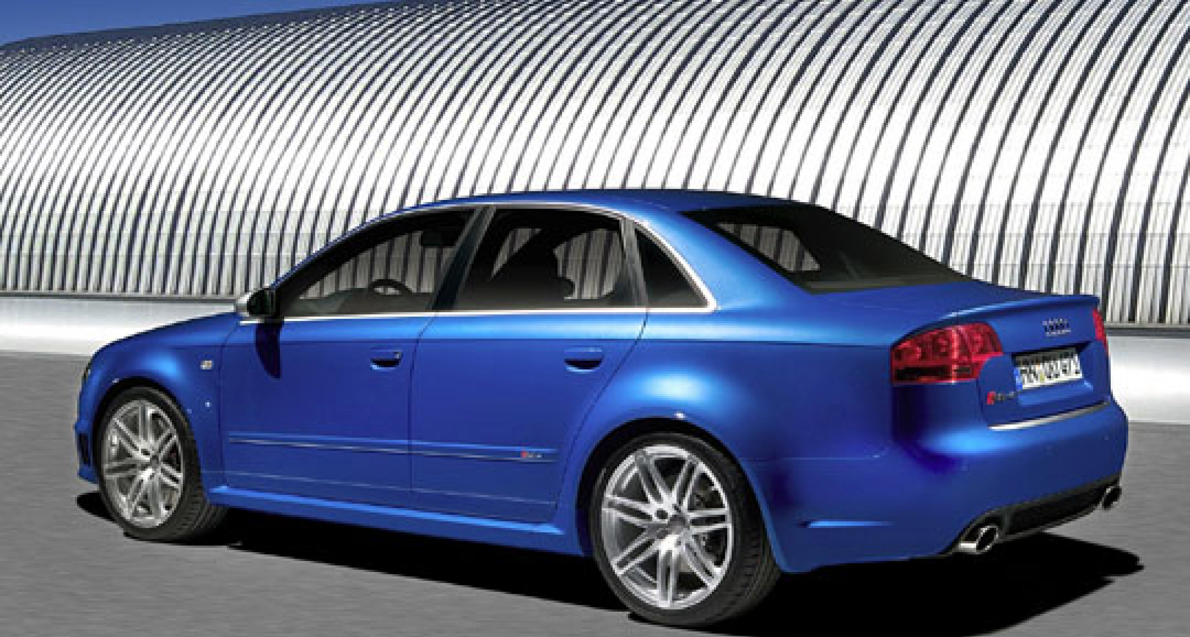 New 420ps Audi RS 4 Quattro Saloon