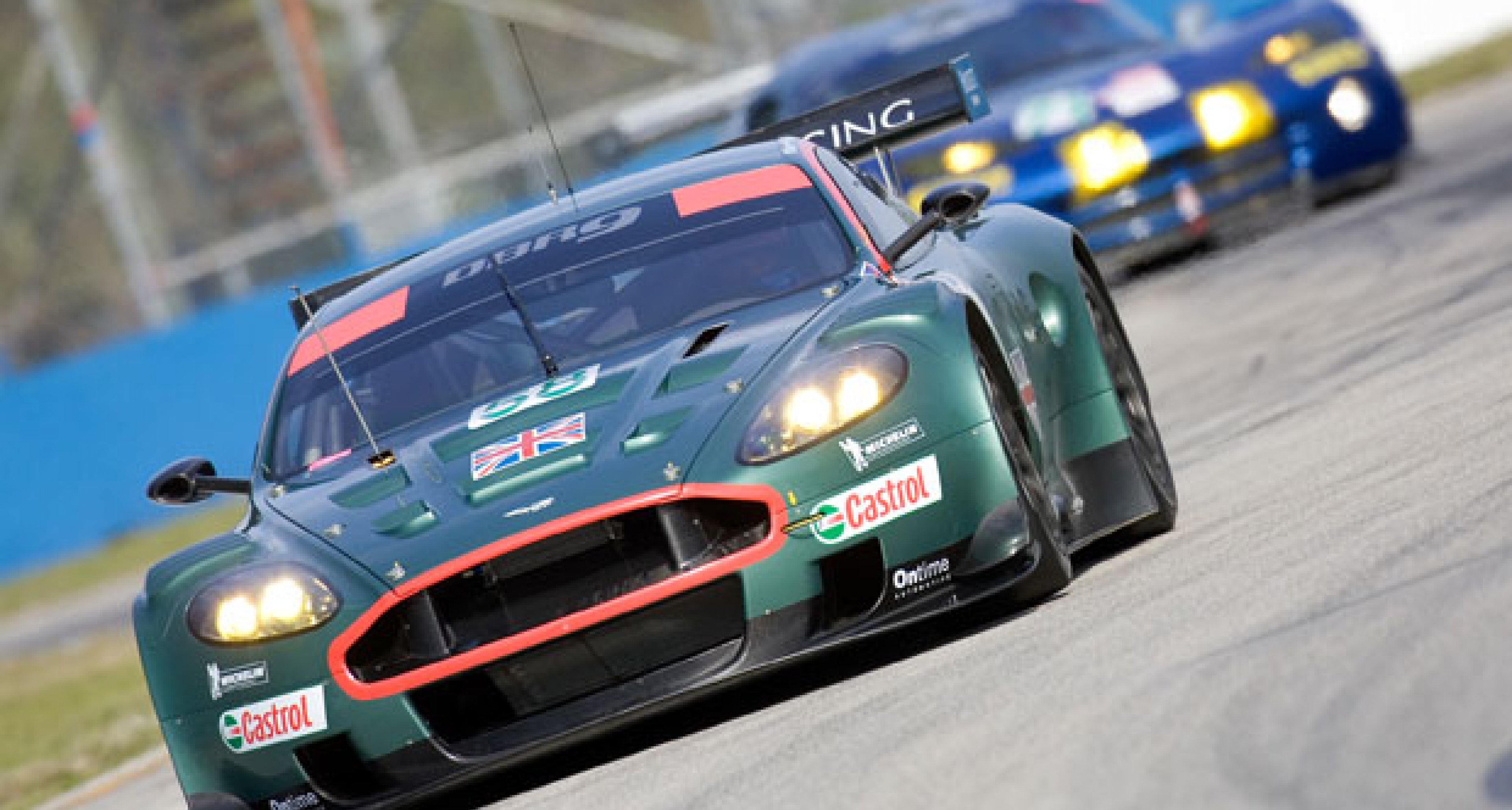 Aston Martin DBR9 at Sebring