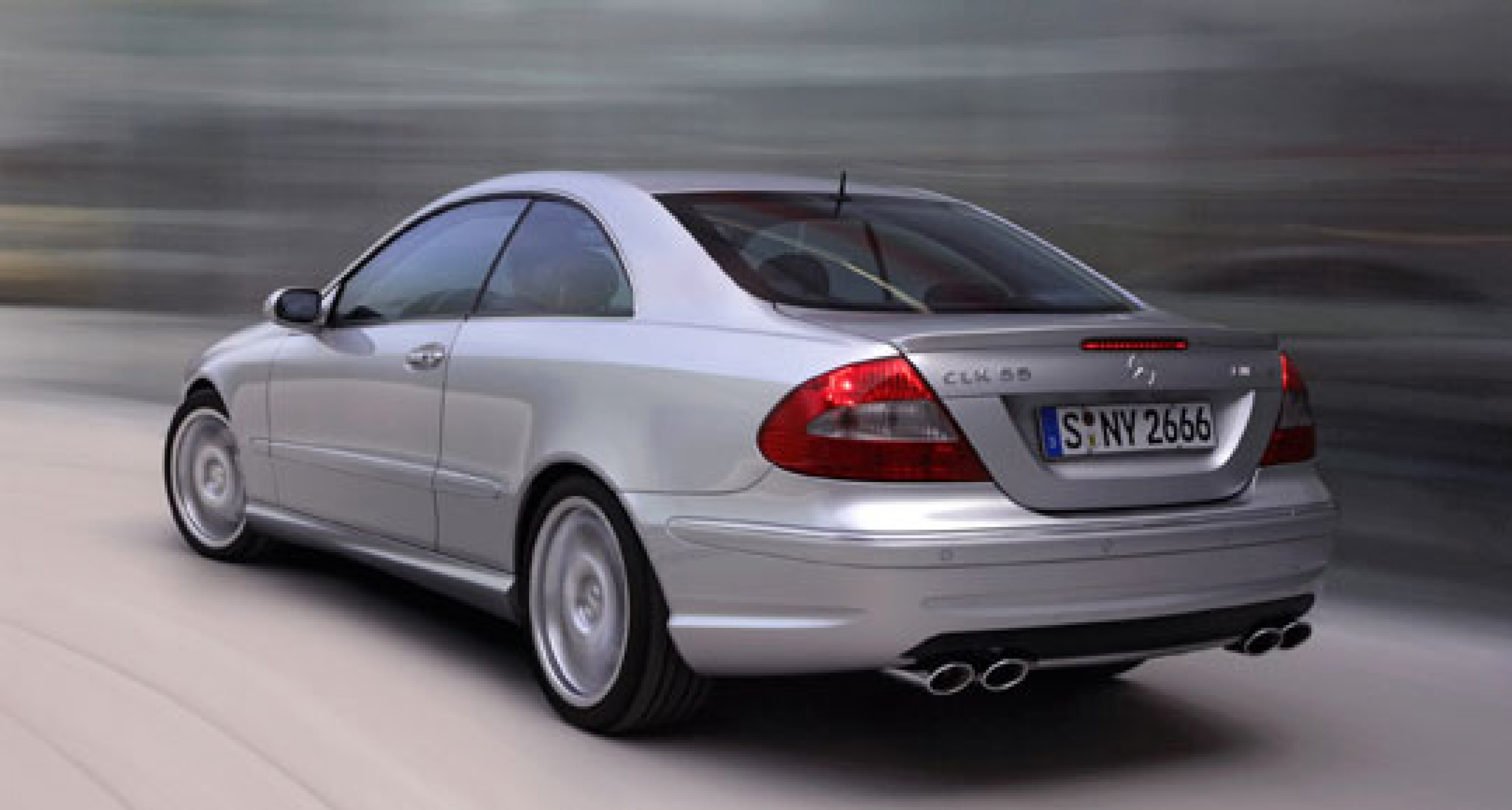 New AMG sports package for Mercedes Benz CLK Class