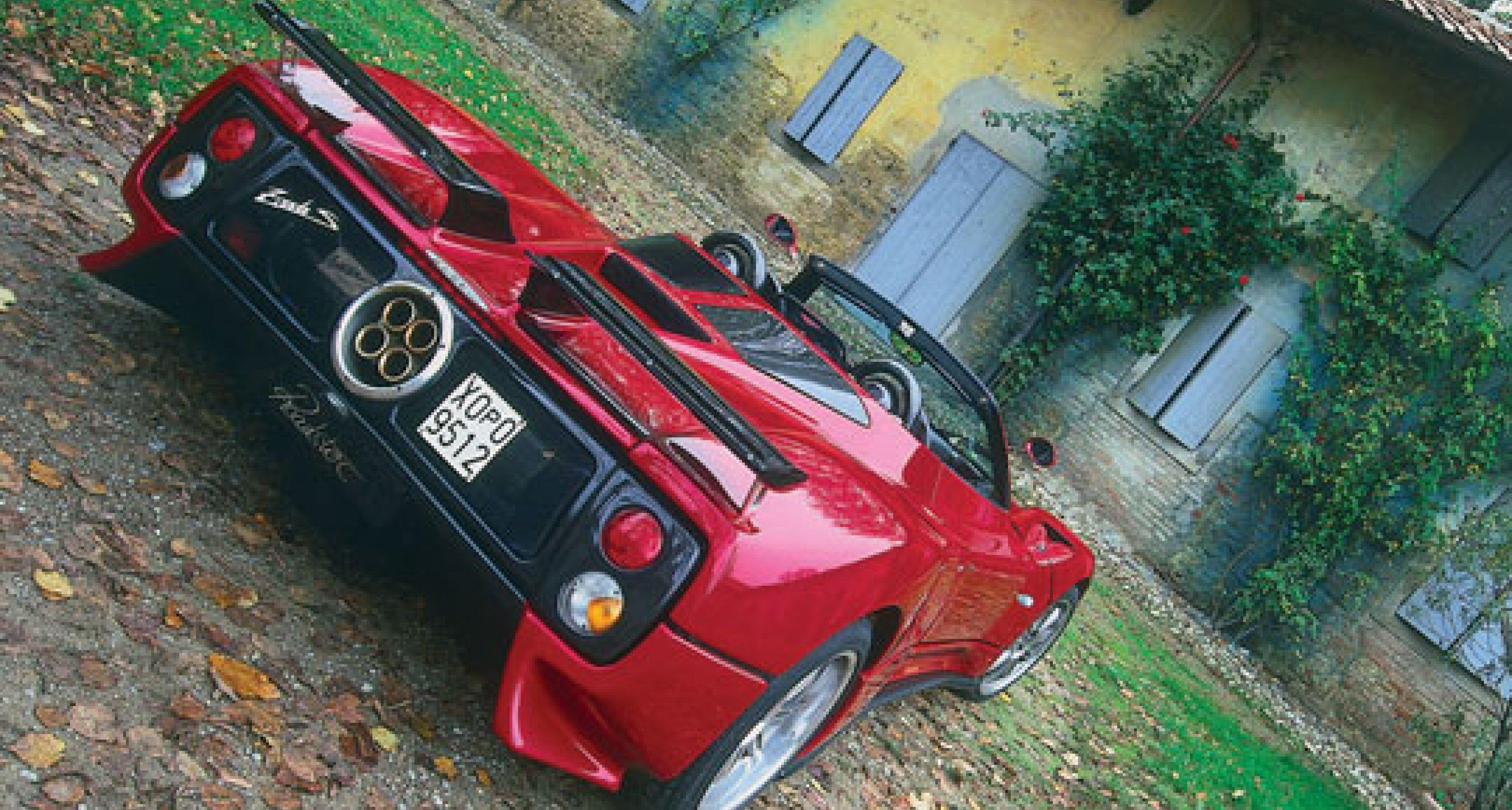 Pagani Zonda S7.3 Roadster
