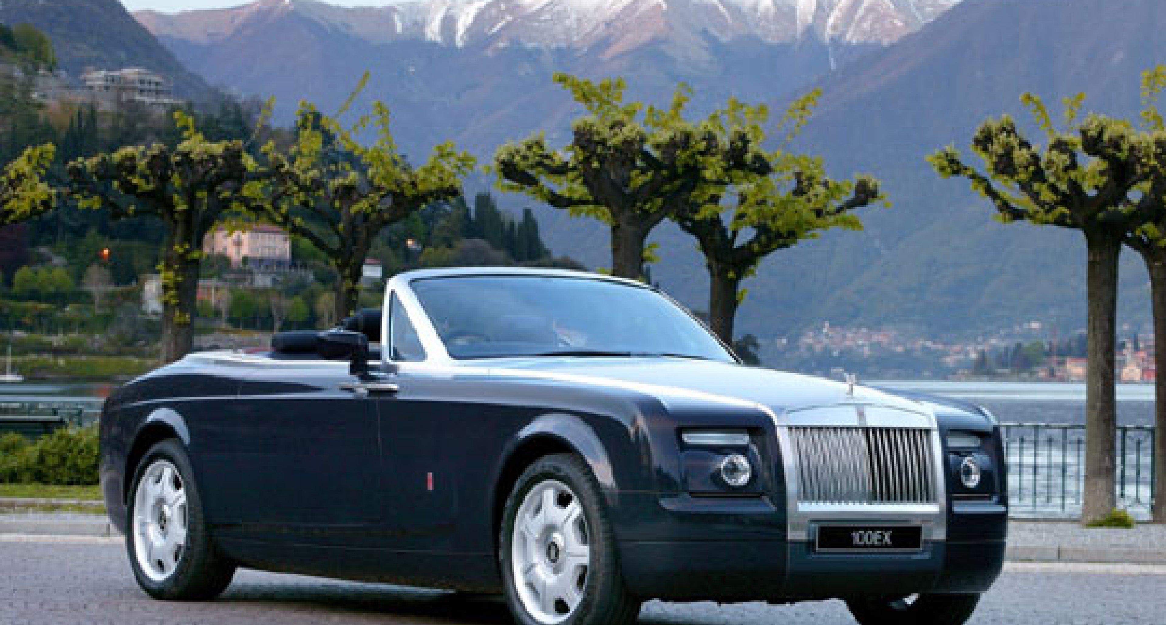 Rolls-Royce Convertible at Cartier International Polo